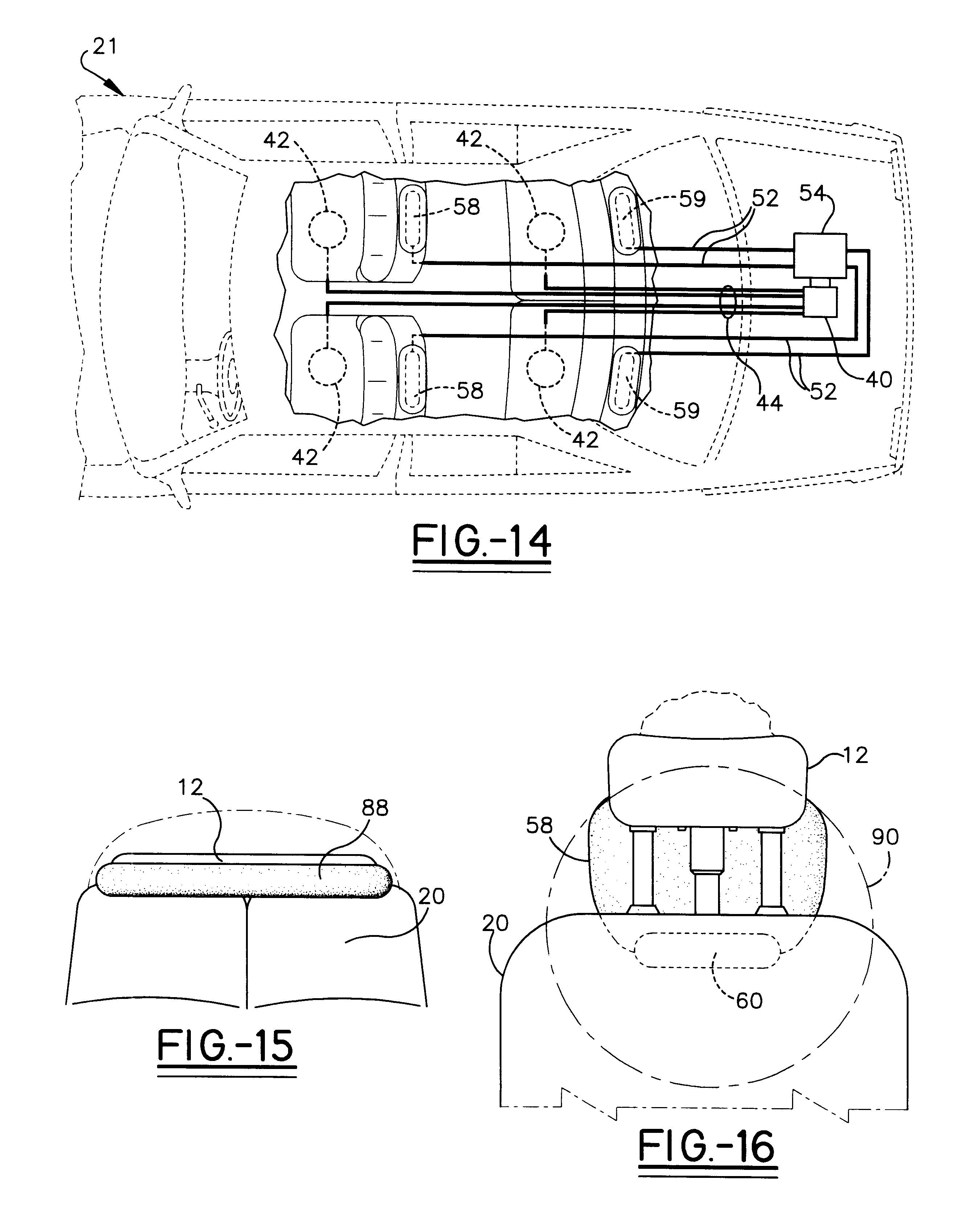 US06199900 20010313 D00006 patent us6199900 vehicle safety collision headrest system on headrest monitor wiring diagram