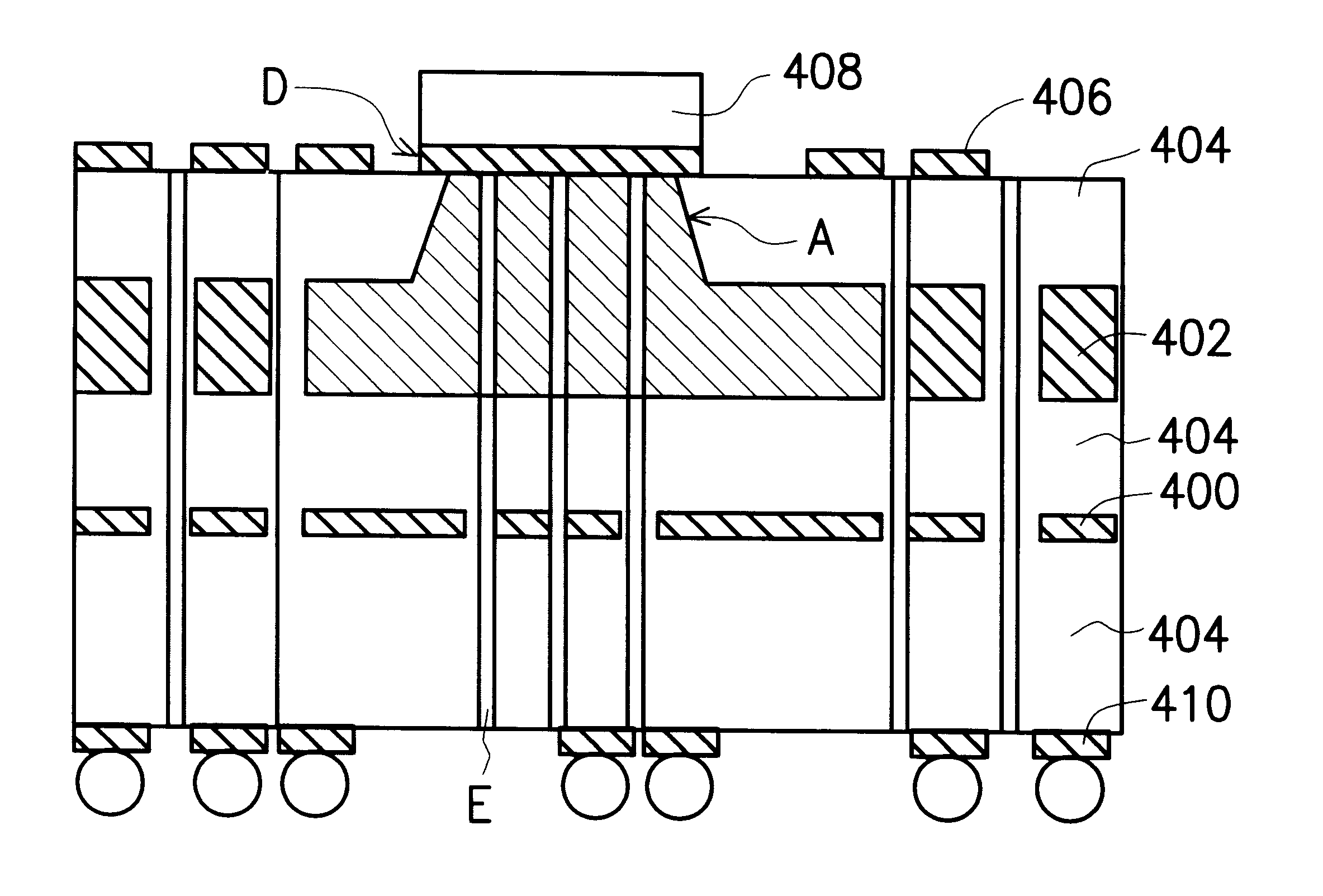 patent us6201300 - printed circuit board with thermal conductive structure