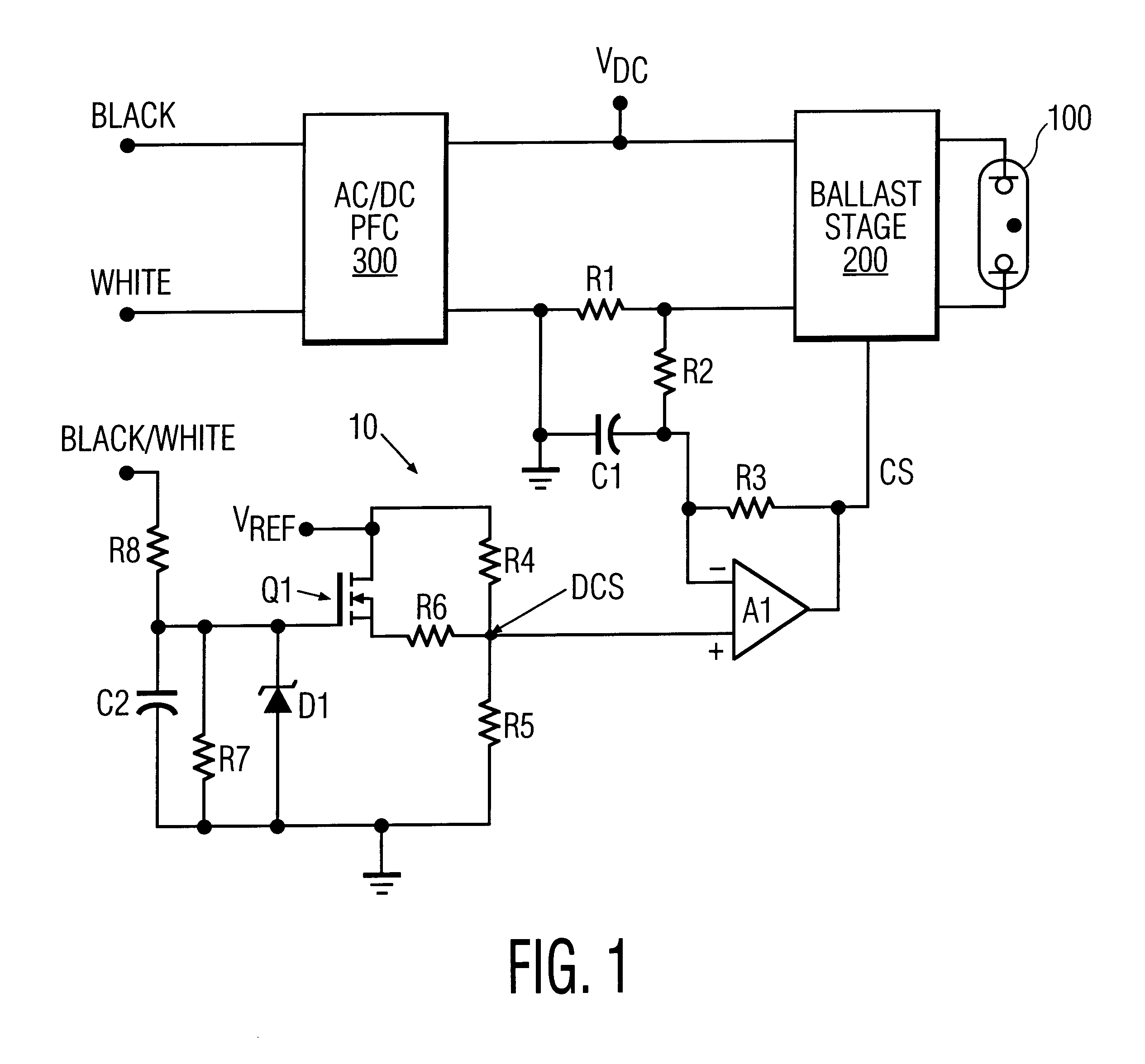 patent us6204614 bi level output electronic high intensity patent drawing