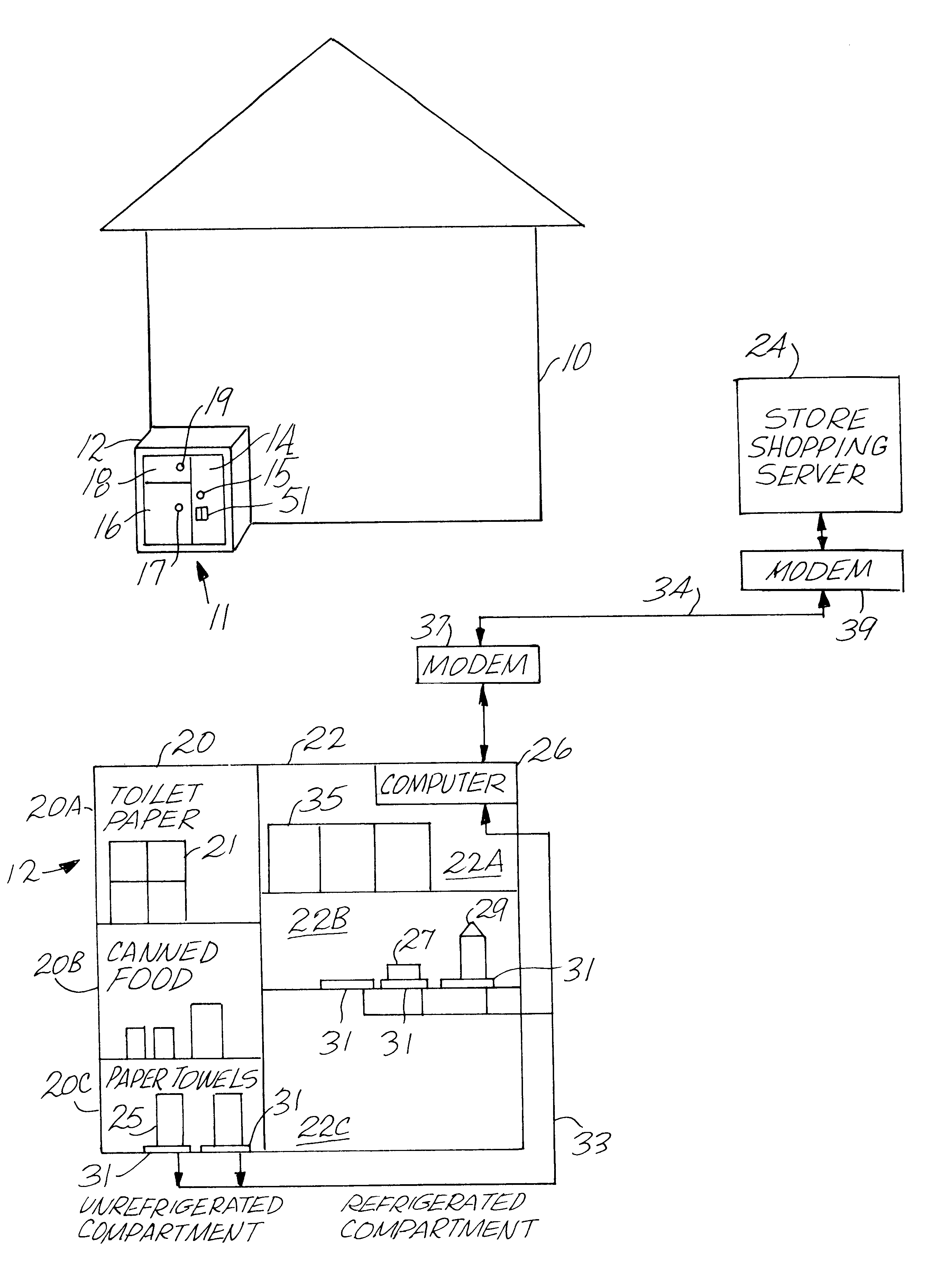 Receipt Number Usps Excel Patent Us  Household Consumable Item Automatic  Electronic Receipt Excel with Pay Zipcash Invoice Patent Drawing What Is Credit Invoice