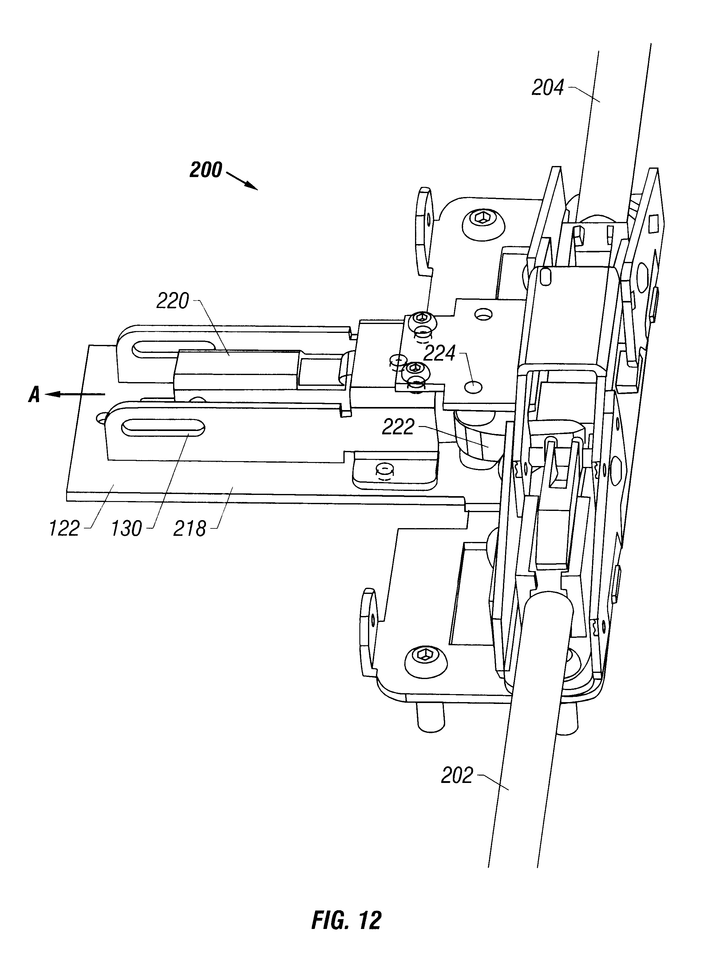 Patent Us6205825 Panic Exit Device Mounting Plate Google Patents Electric Latch Retraction Wiring Diagram Drawing