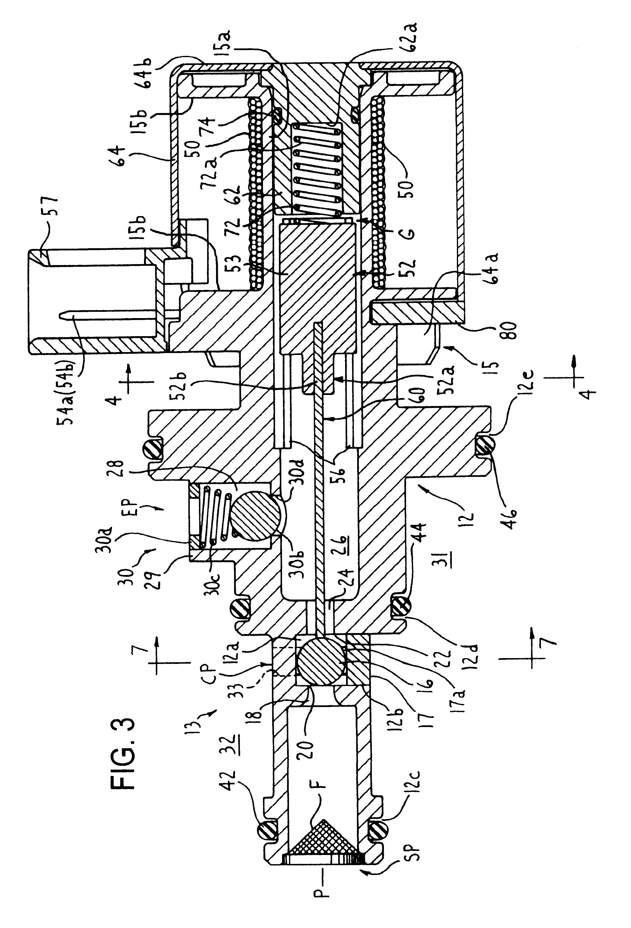 patent us6209563 - solenoid control valve