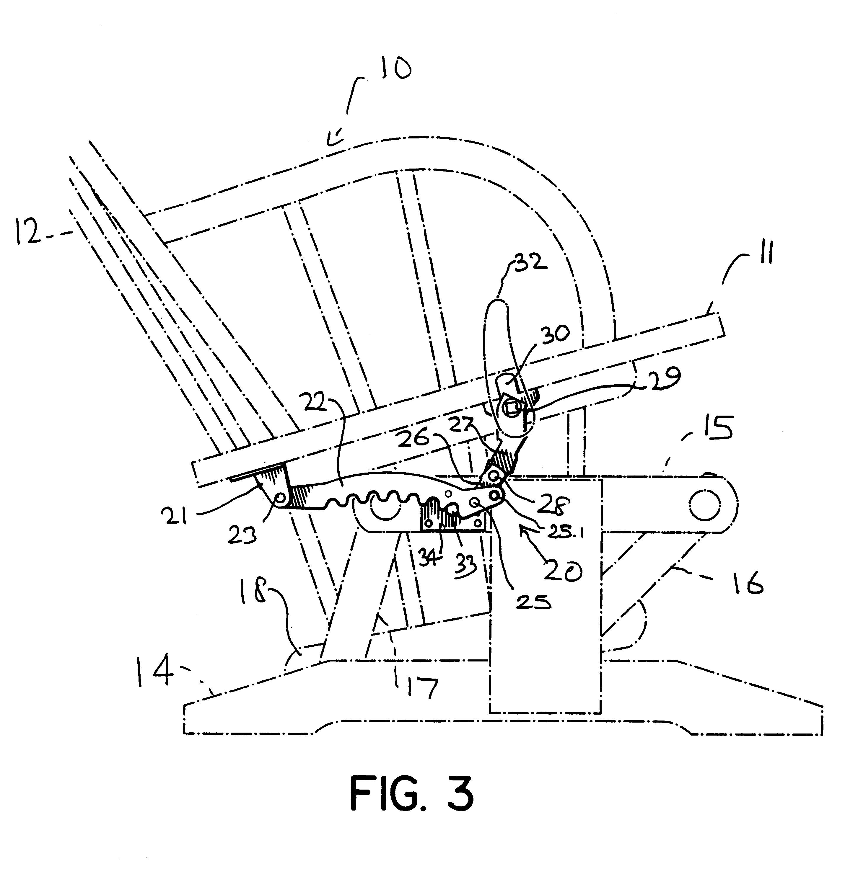 Patent US Chair locking mechanism Google Patents