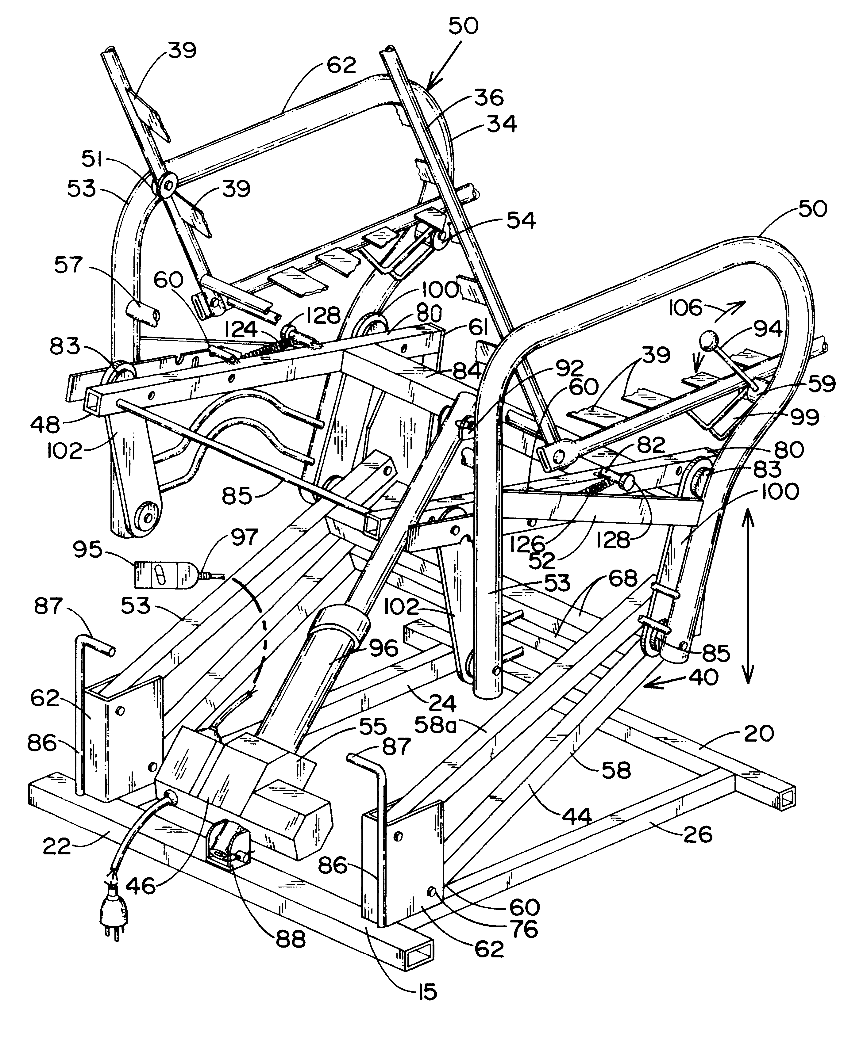 Patent US Lift chair Google Patents