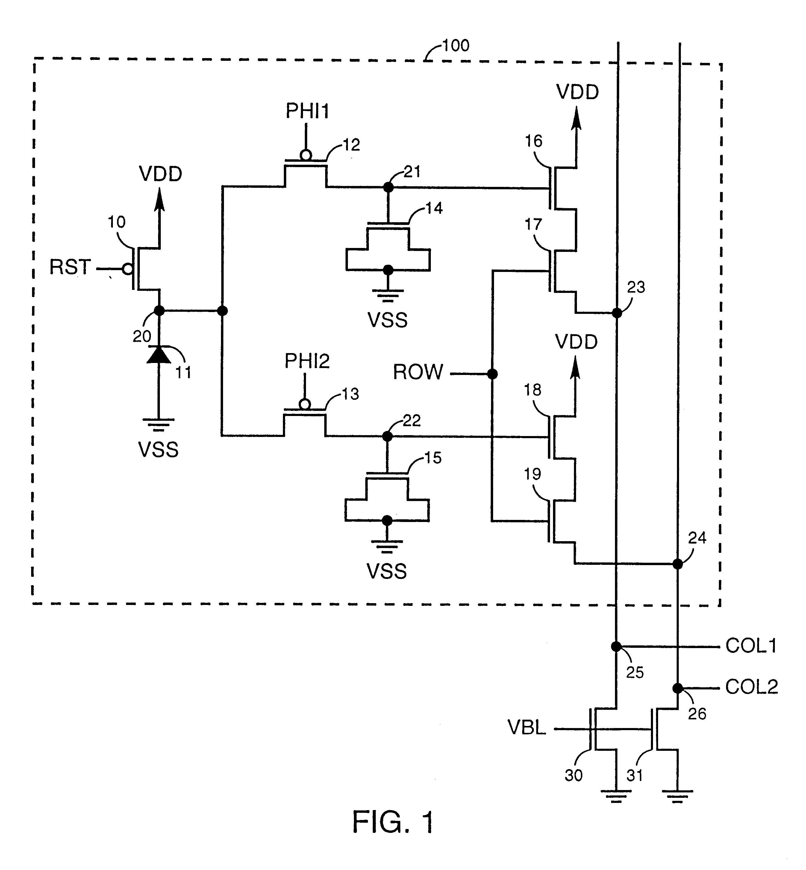 patent us6215113 - cmos active pixel sensor