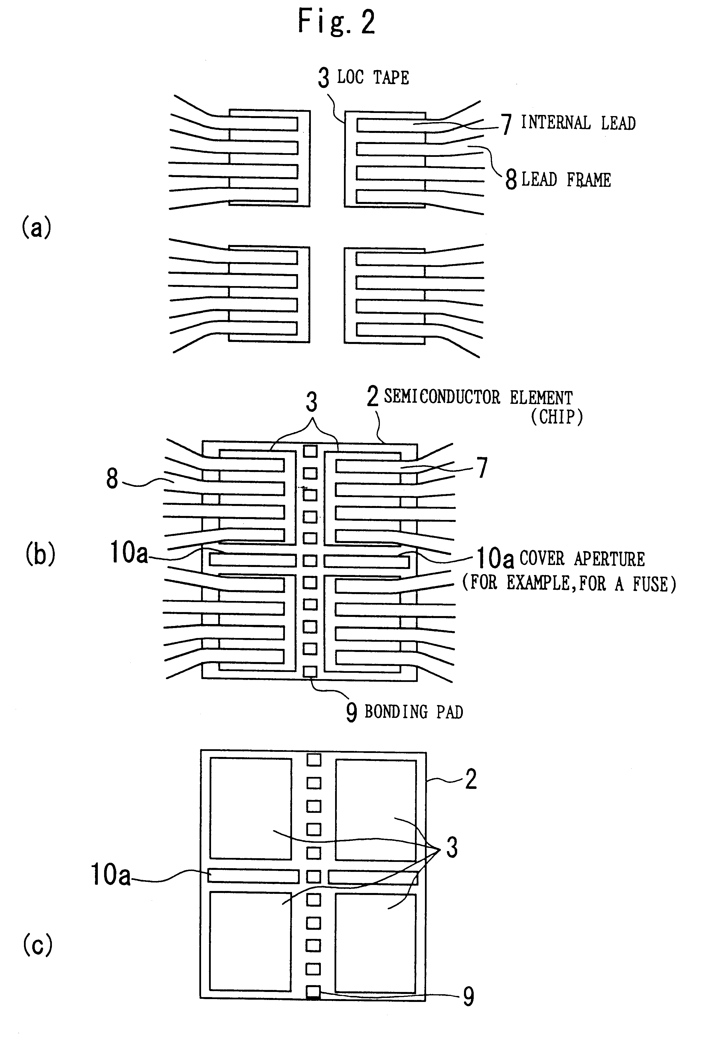 Brevet US6215169 - Semiconductor device with adhesive tape not ...