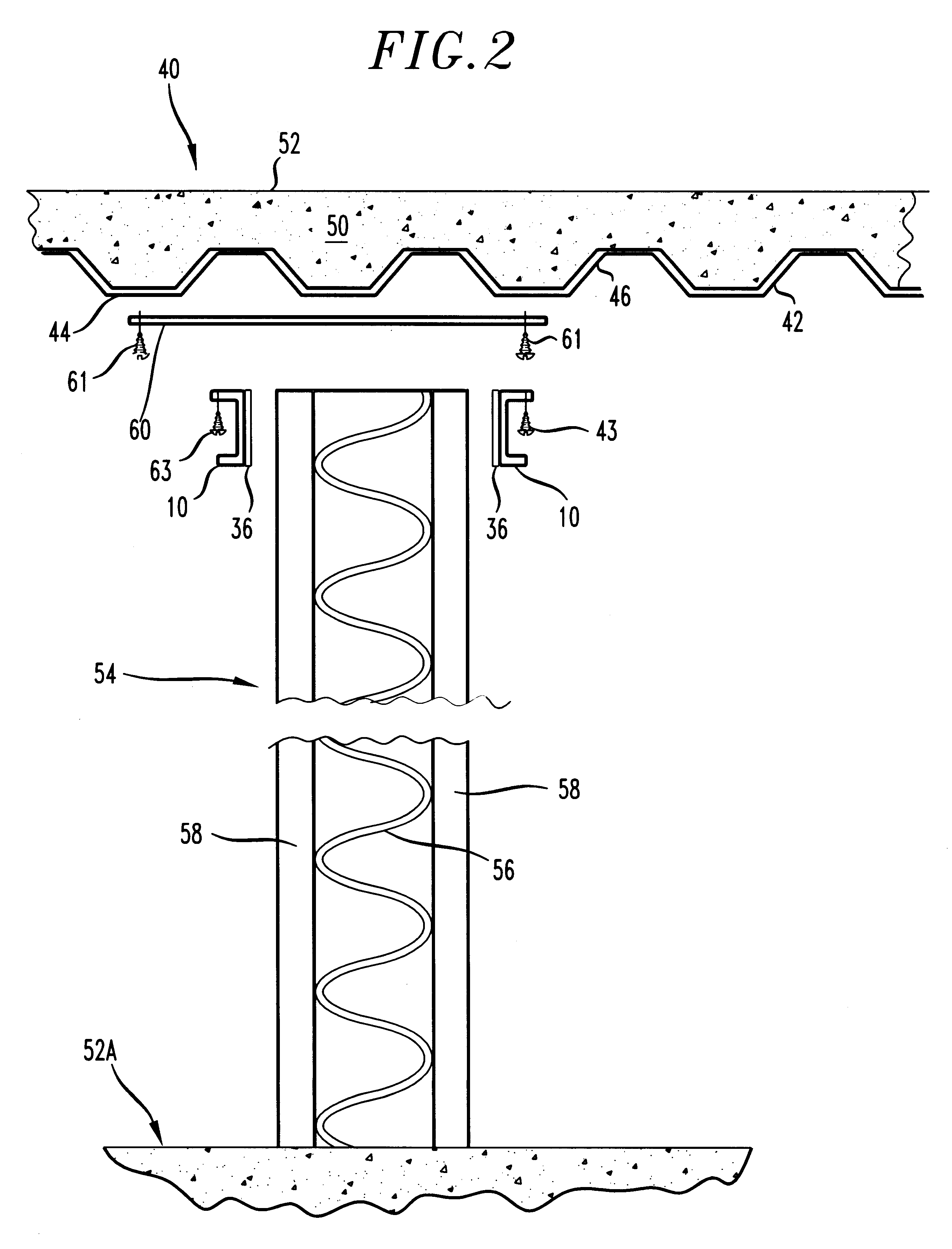 Patent Us6216404 Slip Joint And Hose Stream Deflector