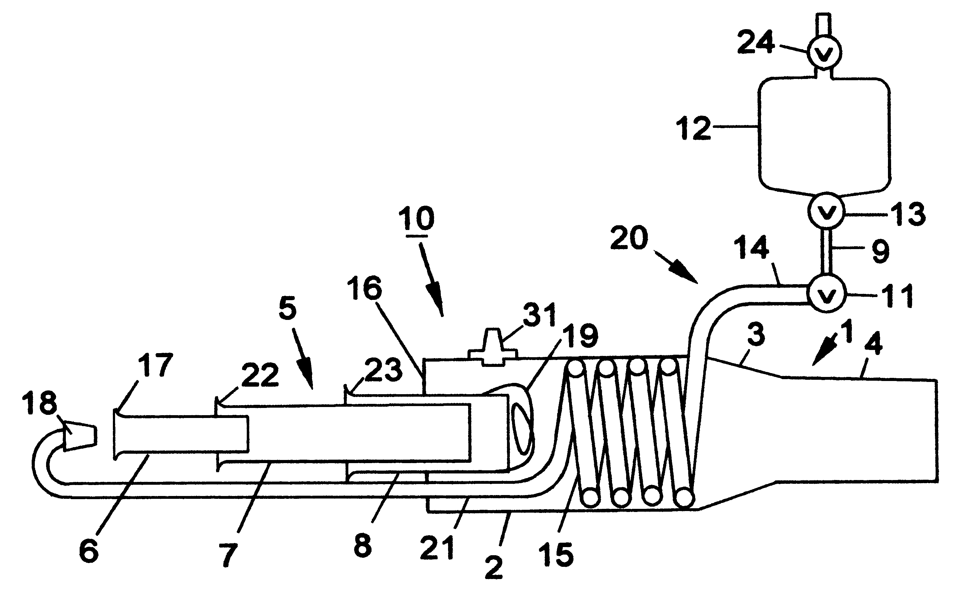 patent us6216446 - valveless pulse-jet engine with forward facing intake duct