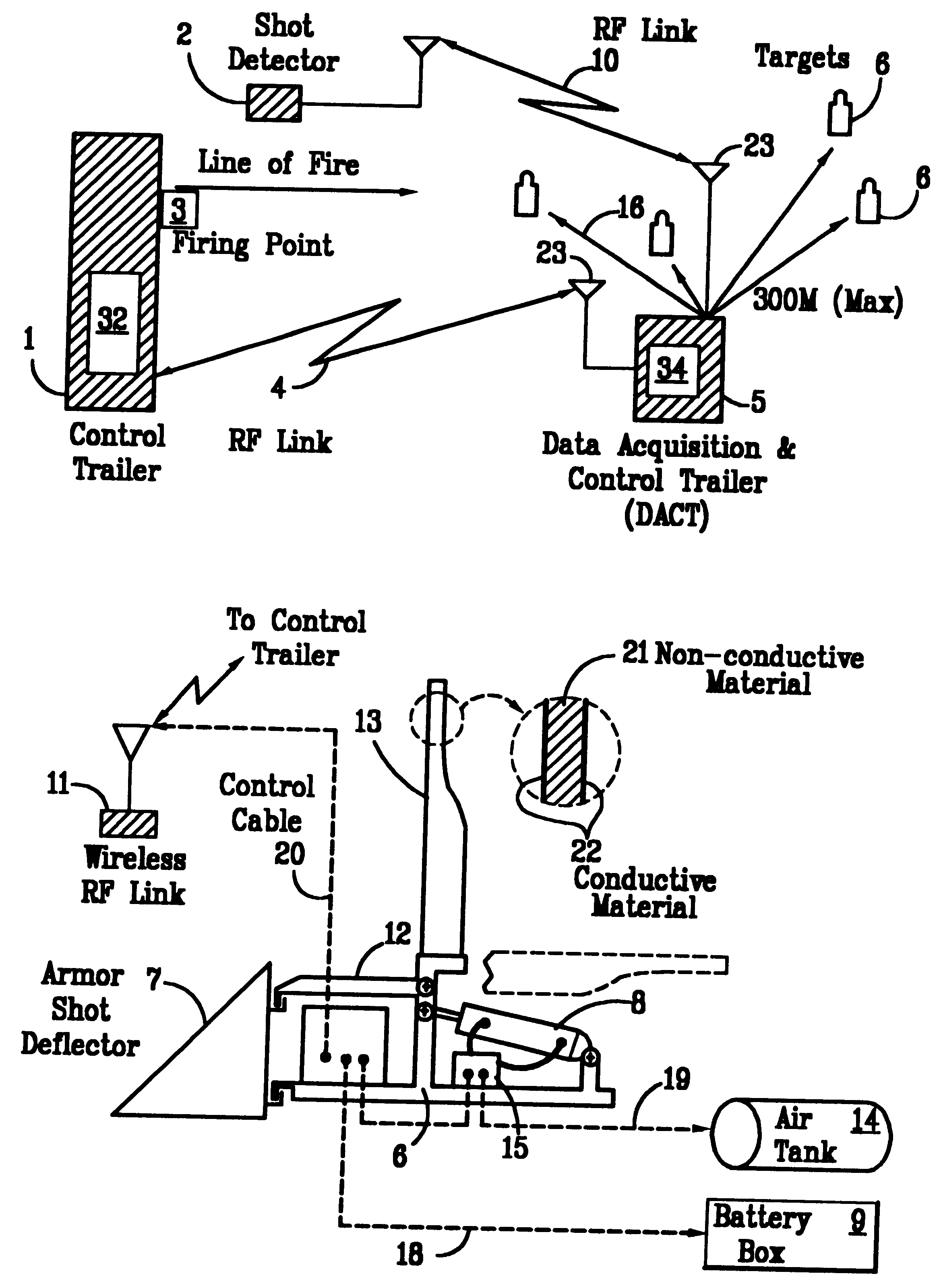 Patent Us6217027 Computerized Portable Pneumatic Target Apparatus Dact Wiring Diagram Drawing