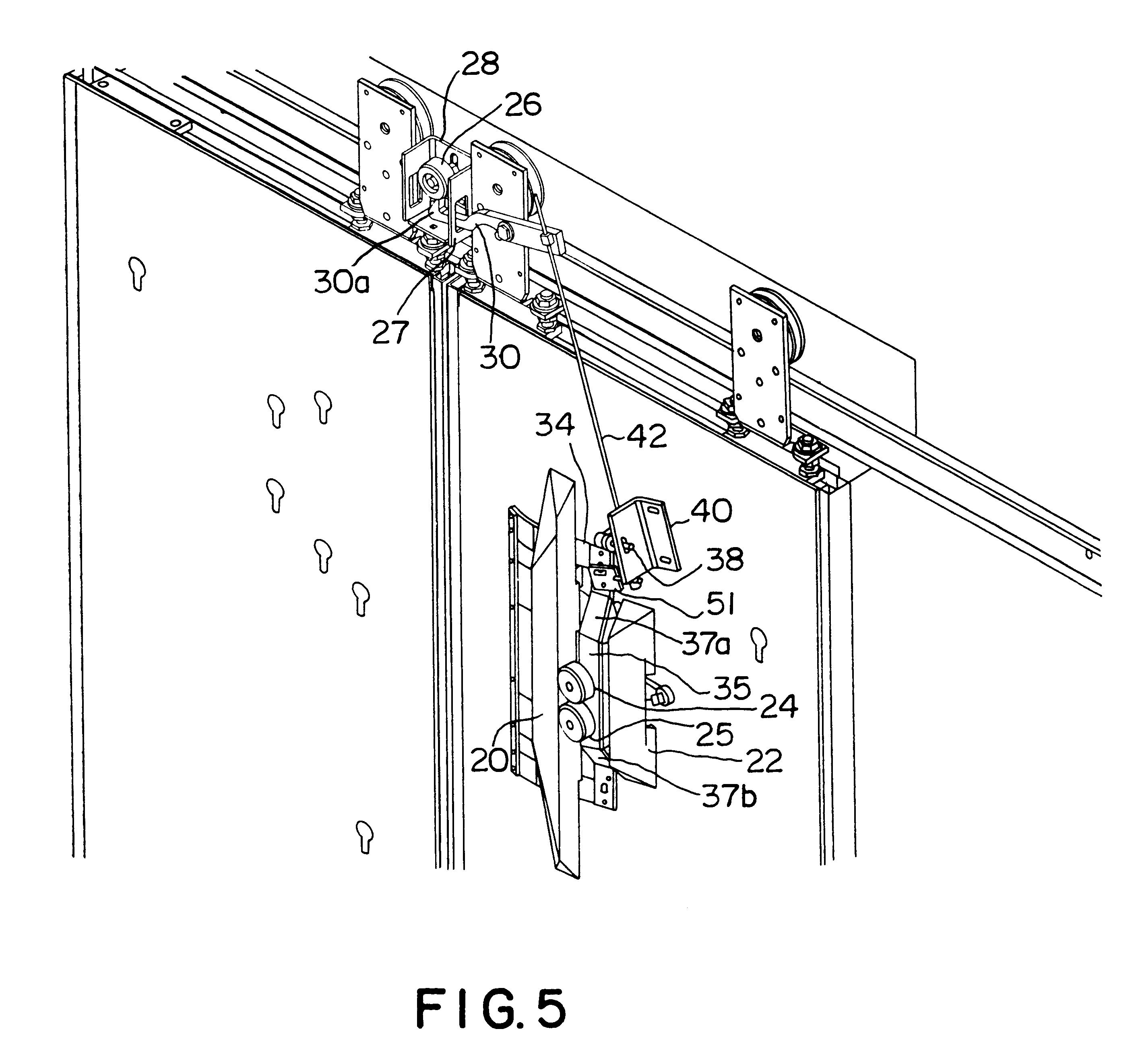 Patent US6220396 Door Restrictor Apparatus For Elevators