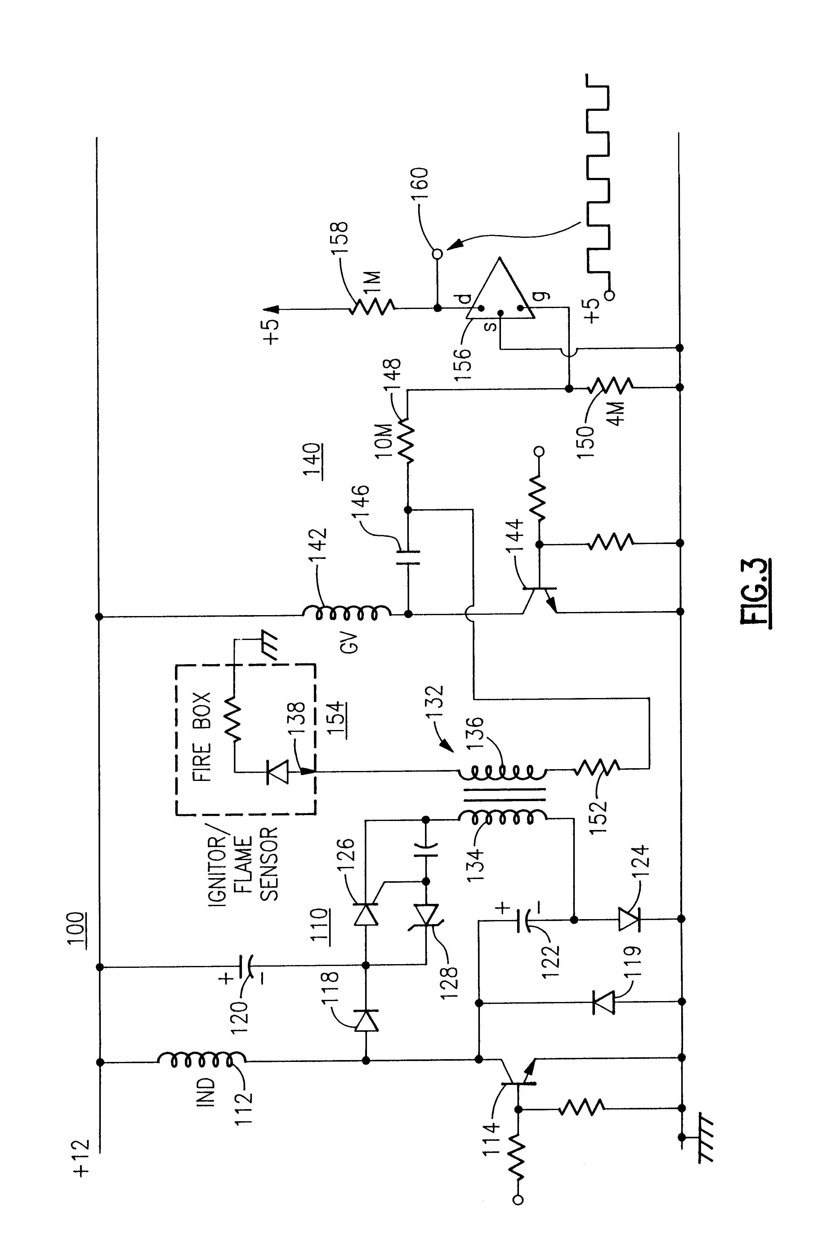 US06222719 20010424 D00002 wiring diagram for ignitor type ignition wiring wiring diagrams  at mifinder.co