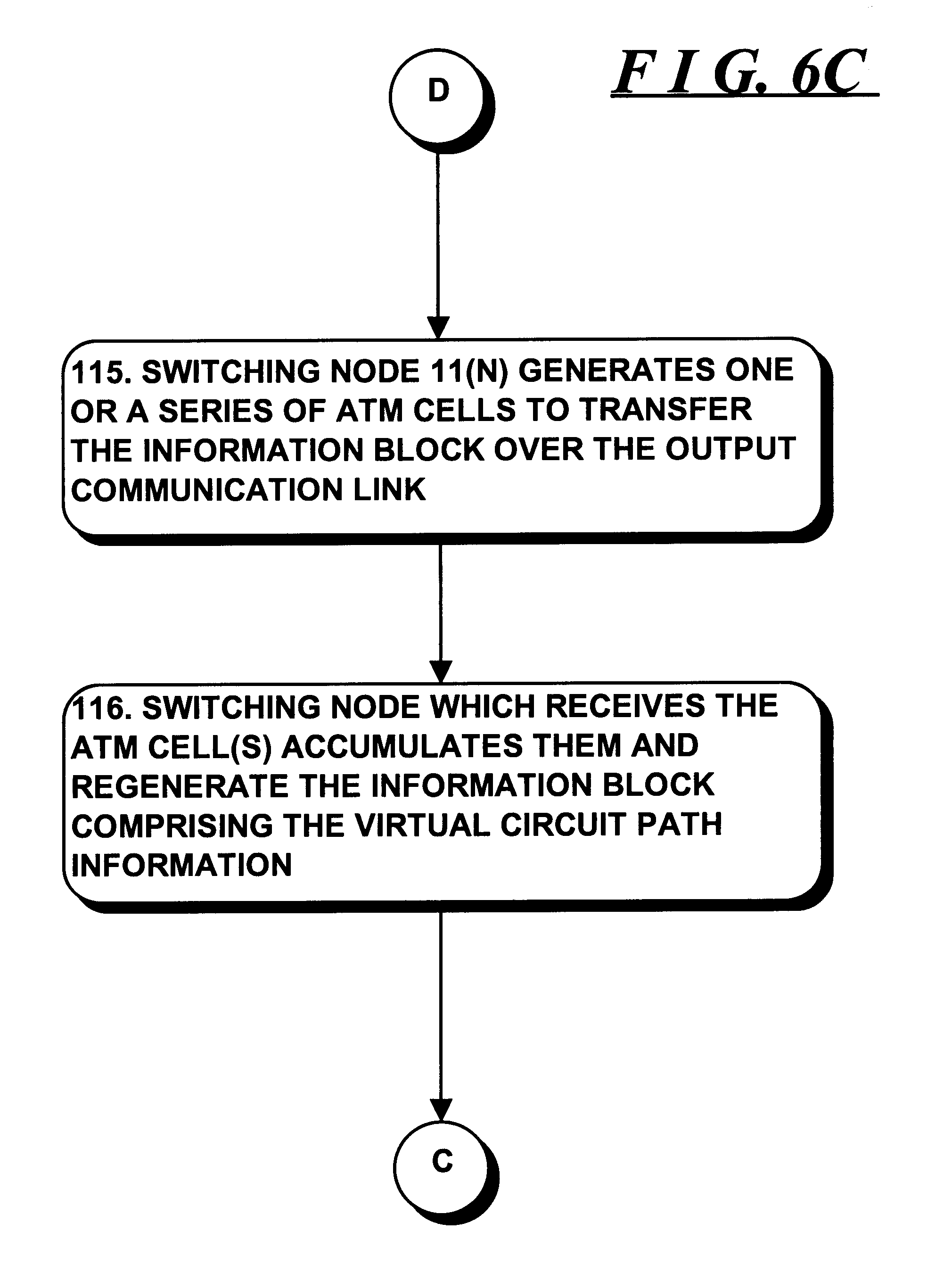 Patent Us6222845 System And Method For Providing Unitary Virtual Circuit Drawing