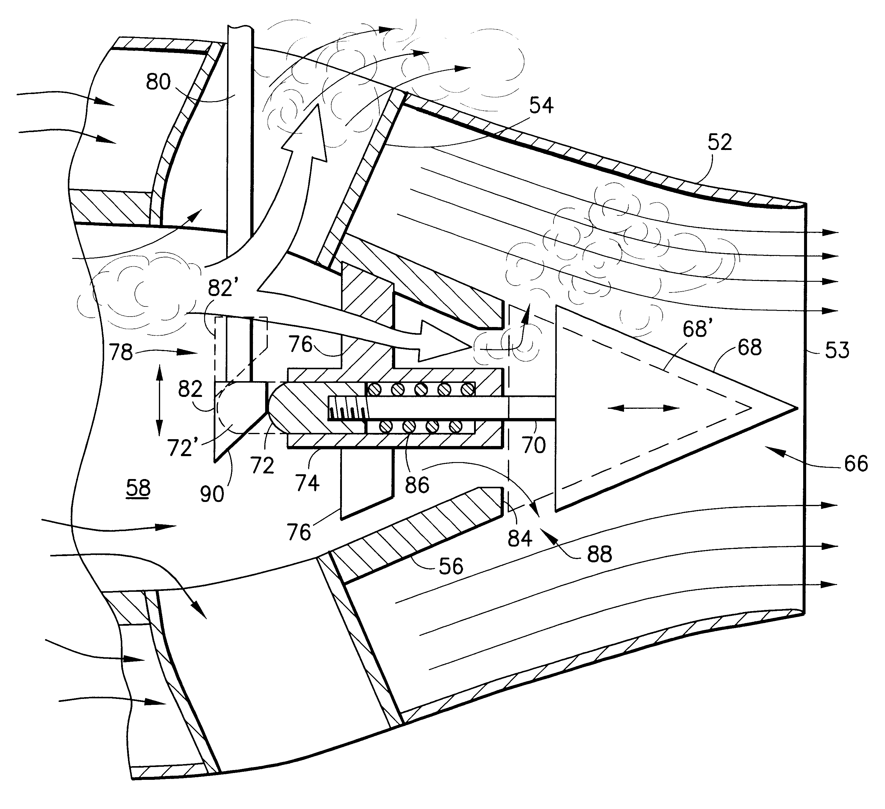 Jet Pump Axial Flow Diagram Showing The Operation Of An Turbojet Engine