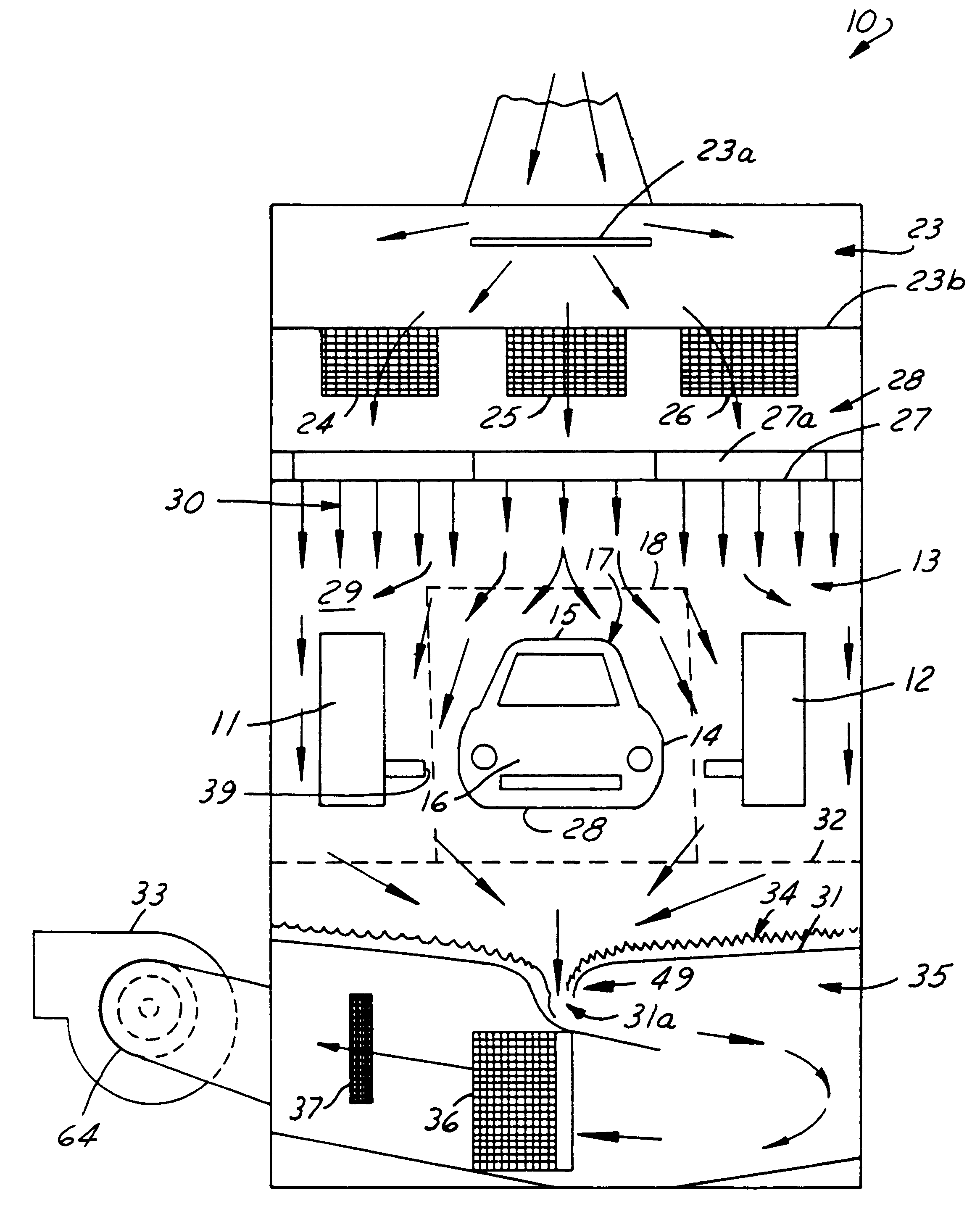 patent us6226568 method of balancing paint booth air flows patents
