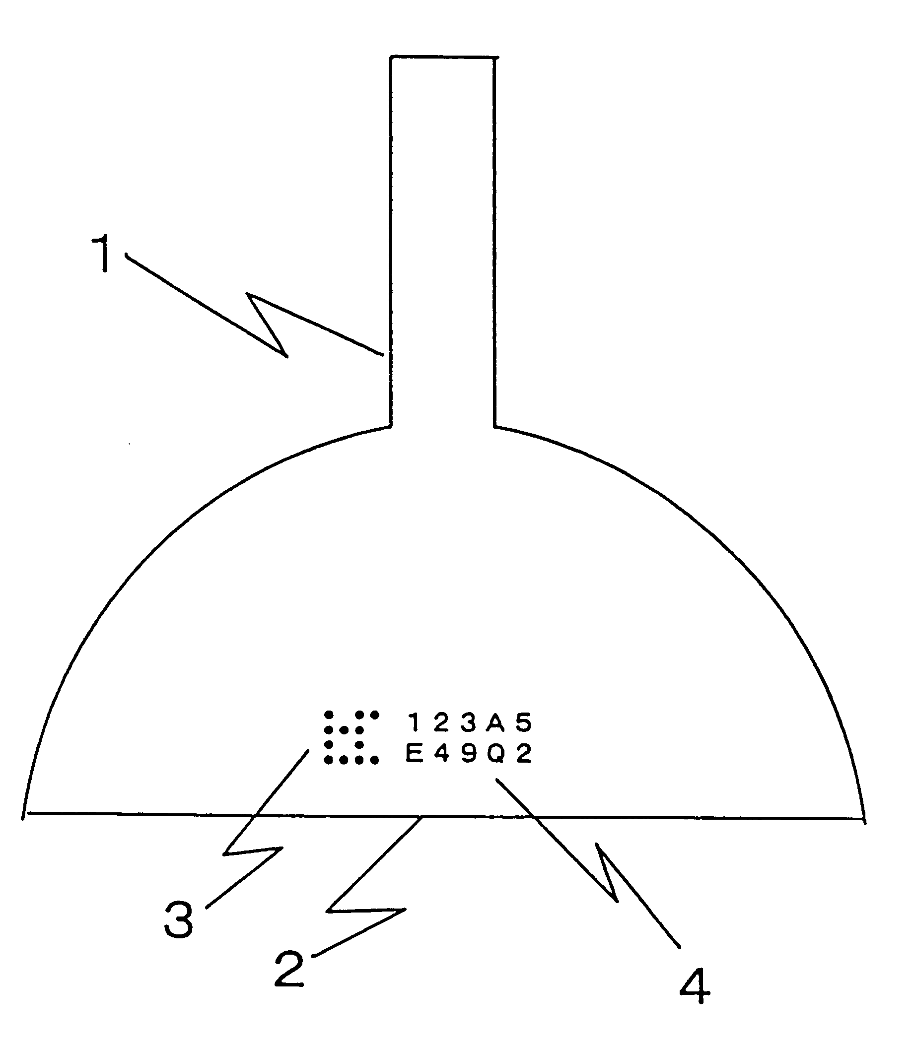 Patent Us6227394 Glass Bulb For A Cathode Ray Tube And Method Diagram Drawing