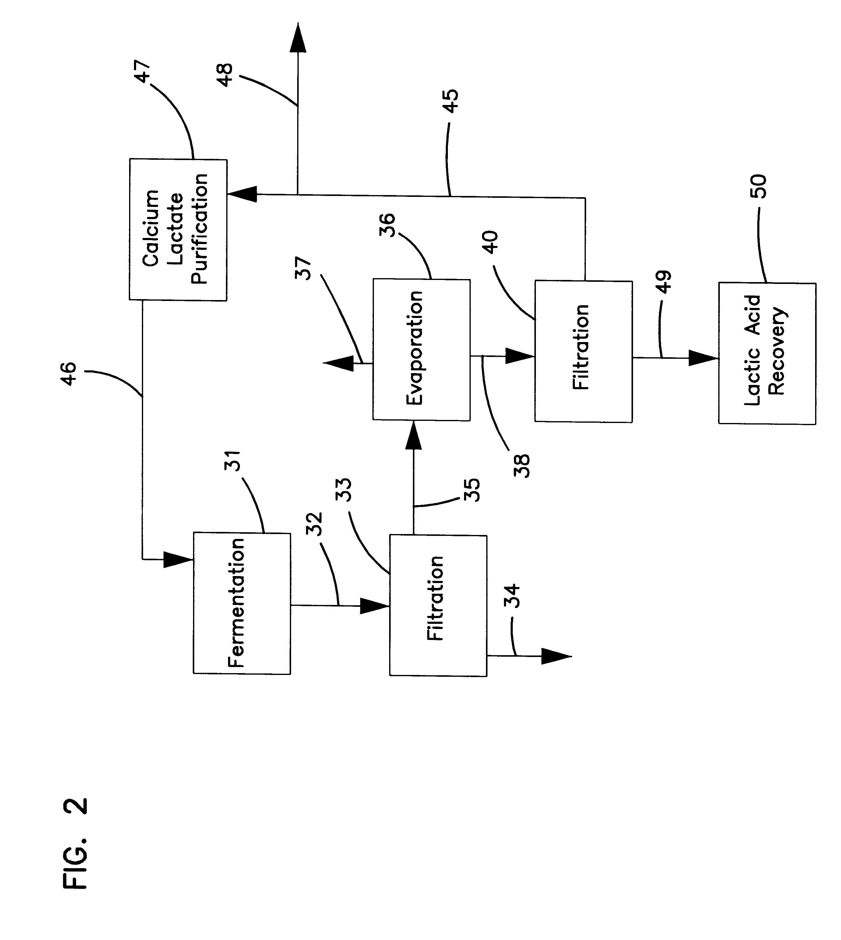 patent us6229046 lactic acid processing methods arrangements and products patents