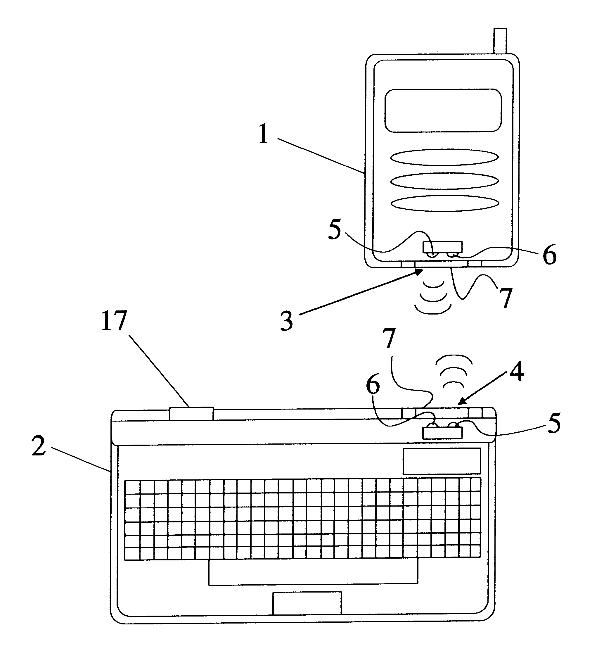 patent us6230214 - portable electronic devices