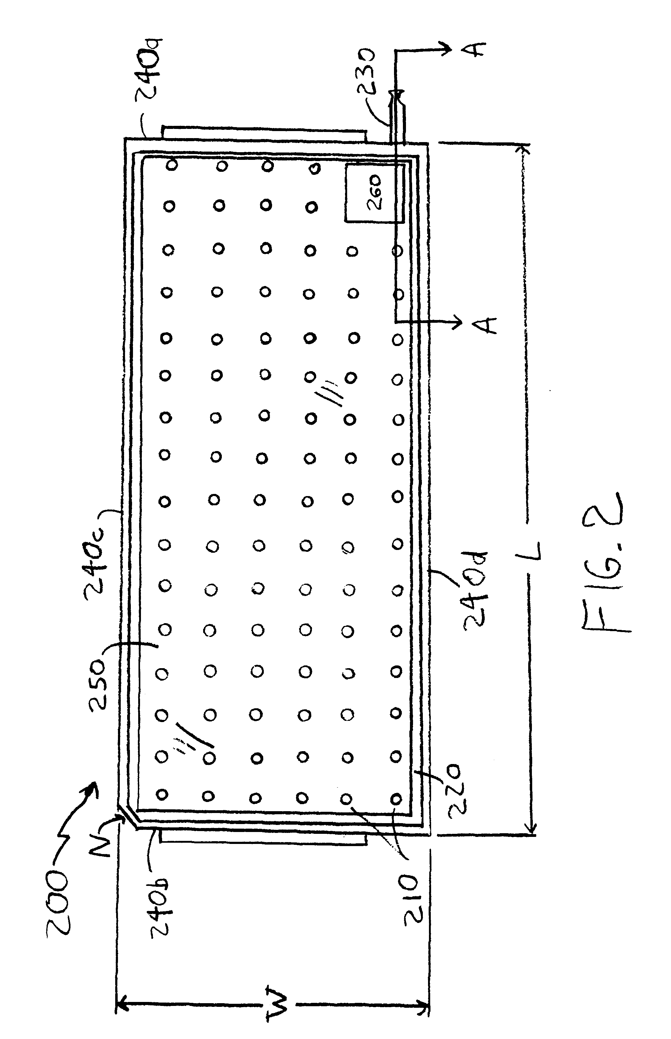 Patent us6230896 universal shipping tray google patents for Standard blueprint size