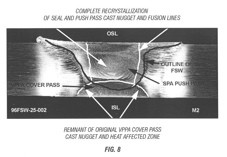 Patent Us6230957 Method Of Using Friction Stir Welding