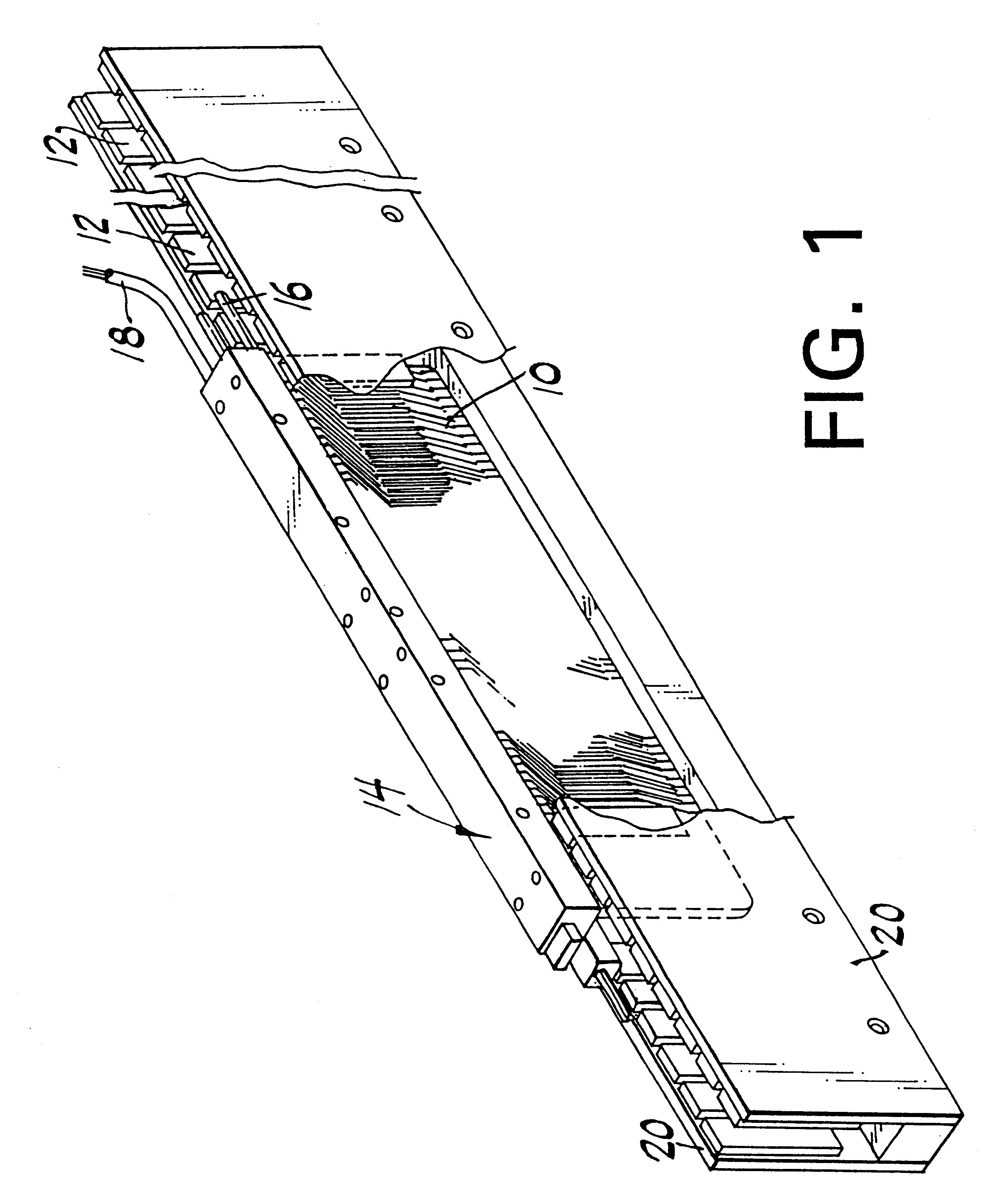 Patent Us6239516 High Performance Ironless Linear Motor With Supported Windings Google Patents