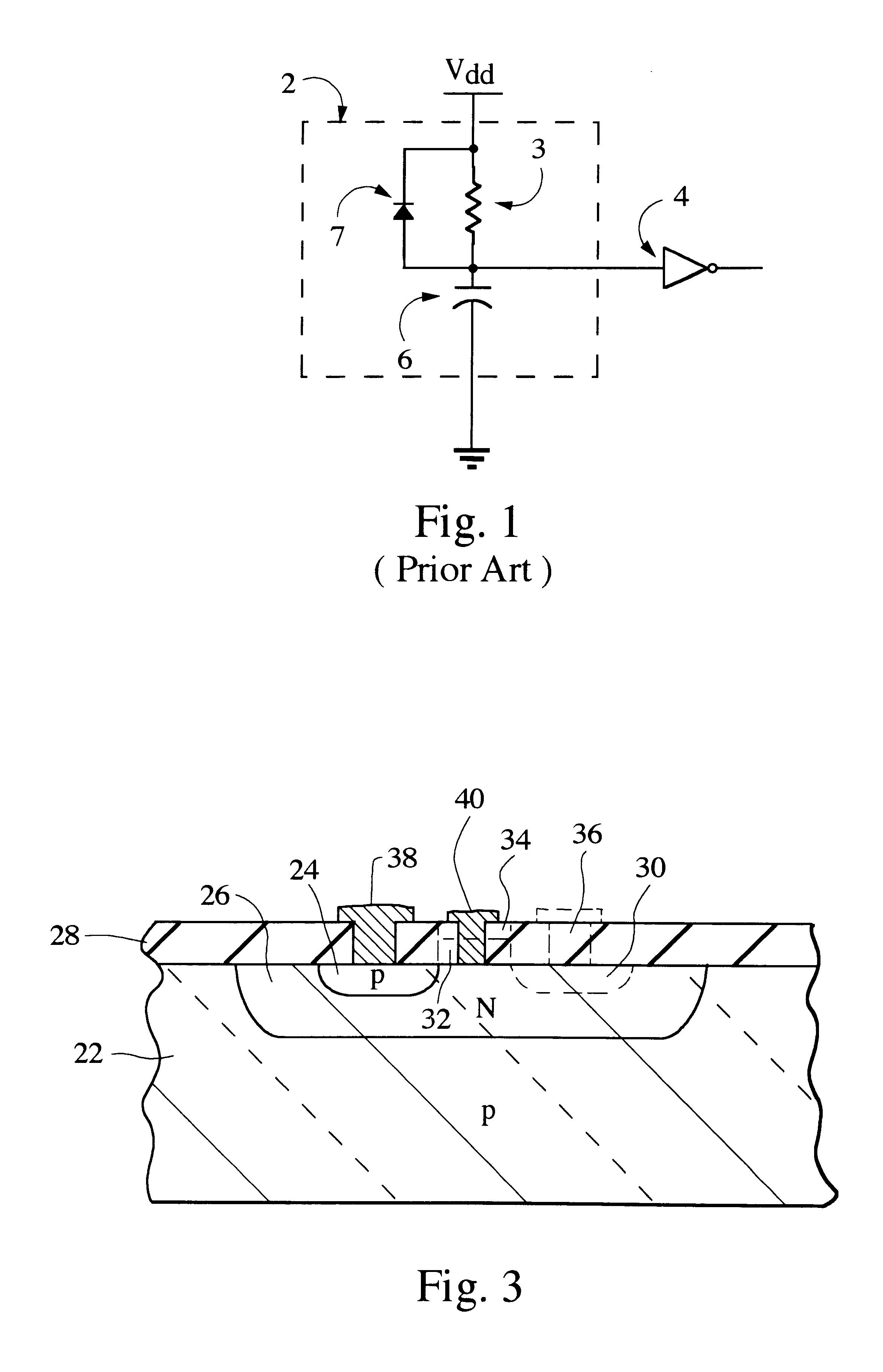Patente Us6239630 Cmos Compatible Power On Reset Circuit Figure 24 A Semiconductor Memory Chip Integrated Patent Drawing