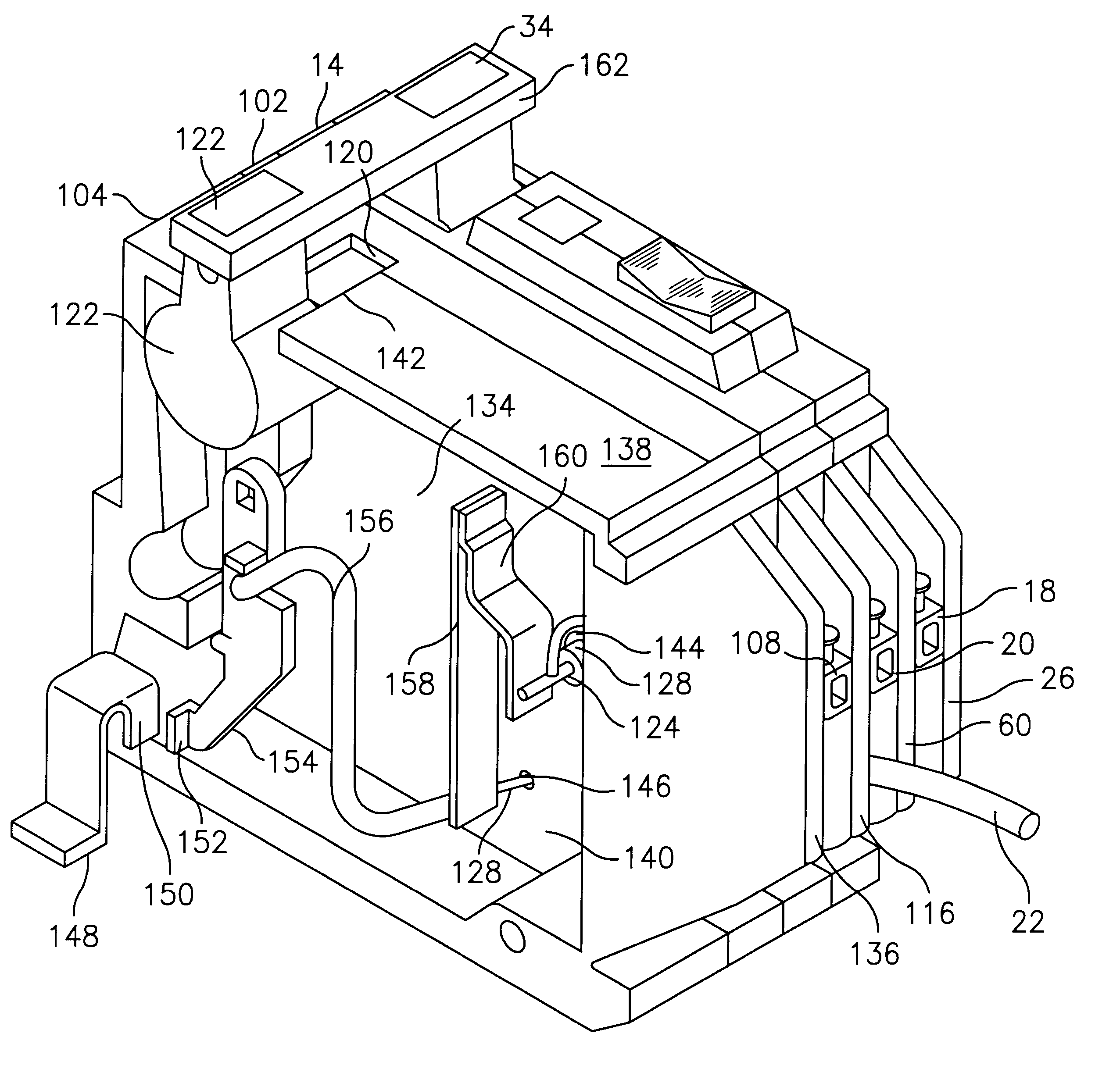 patent us6239962 arc fault circuit breaker google patents patent drawing