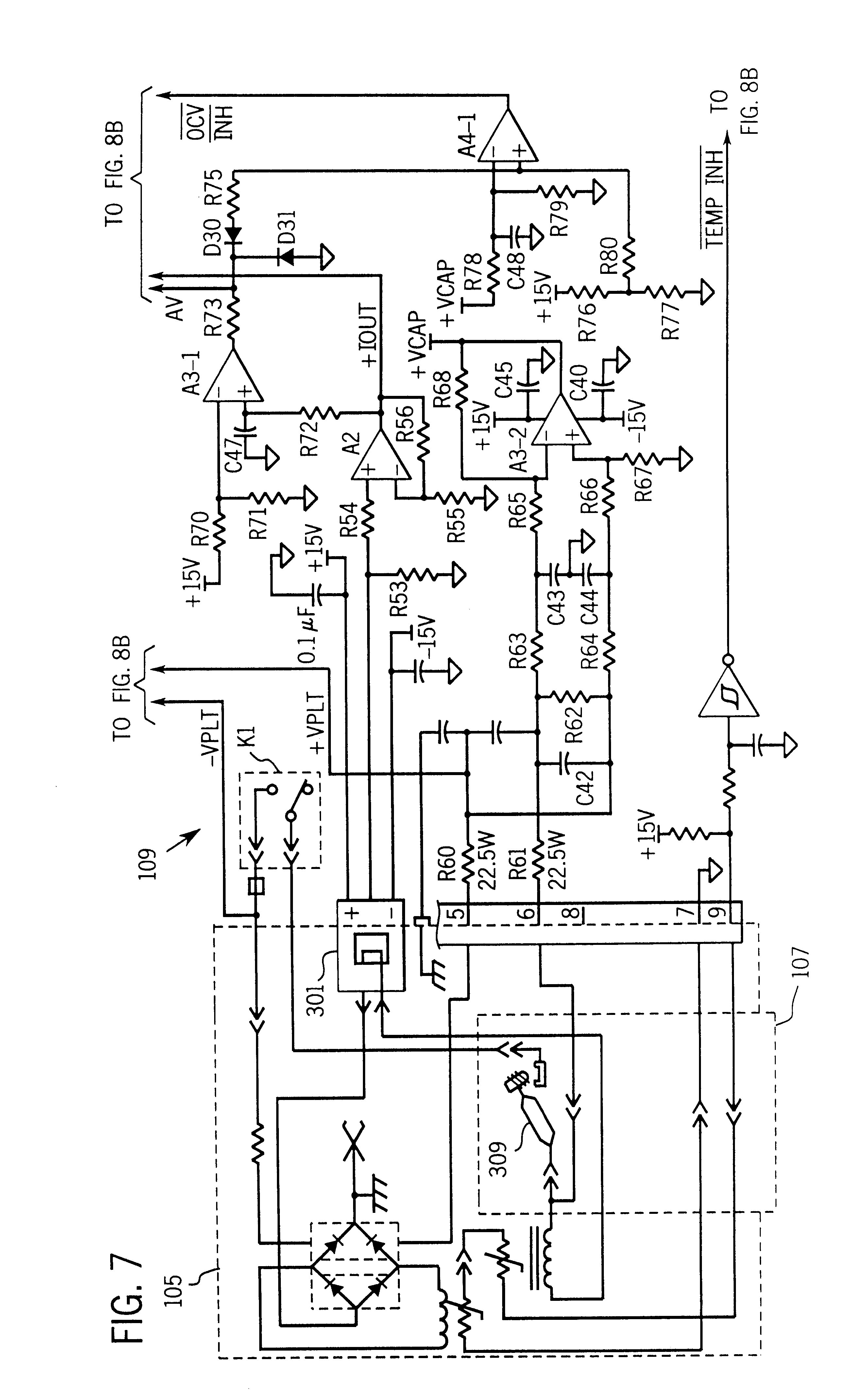 patent us6242710 - method and apparatus for a contact start plasma cutting process