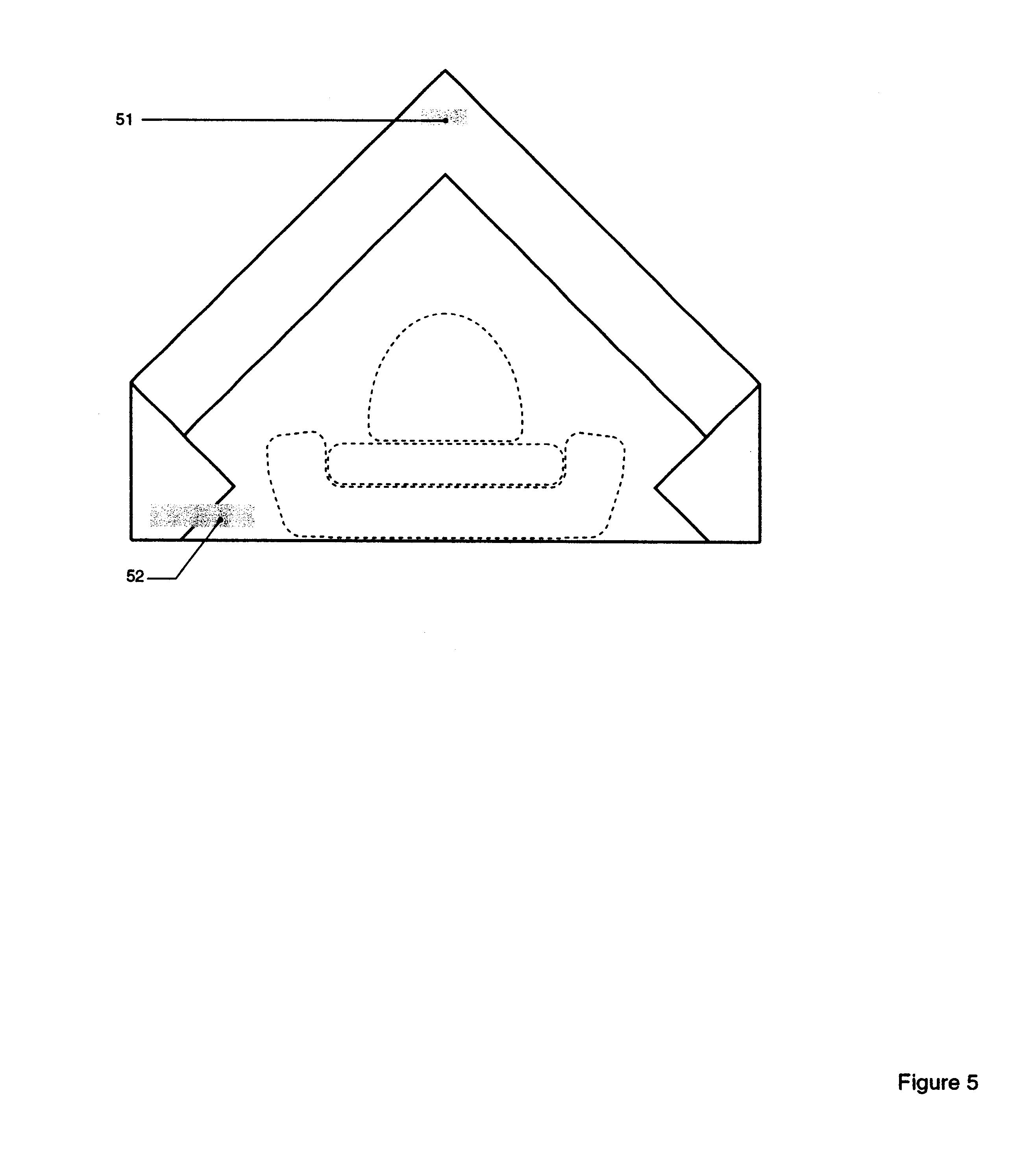 Pentagon Shape Car Interior Design