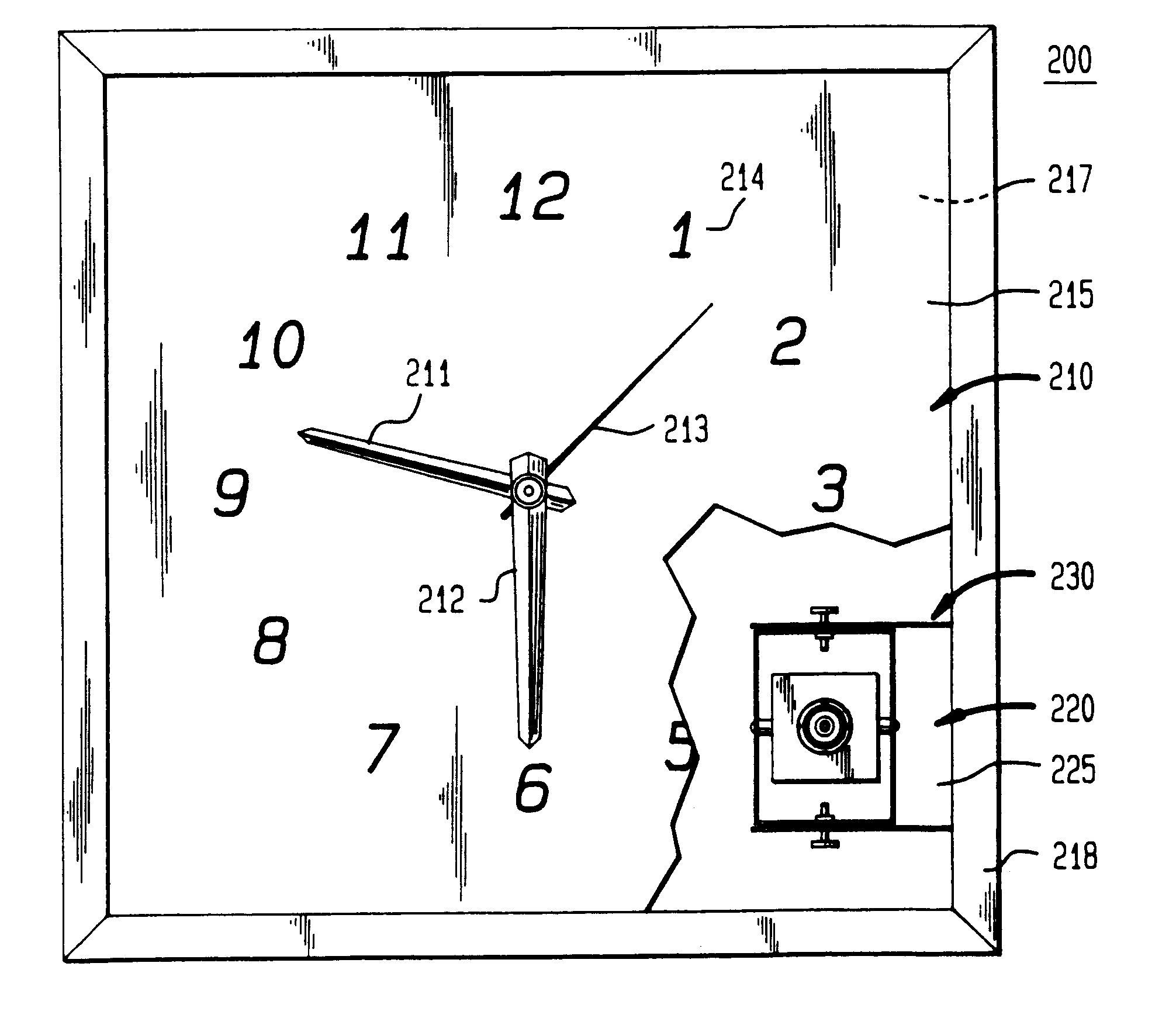 patent us6249310 discrete surveillance camera devices google patents. Black Bedroom Furniture Sets. Home Design Ideas