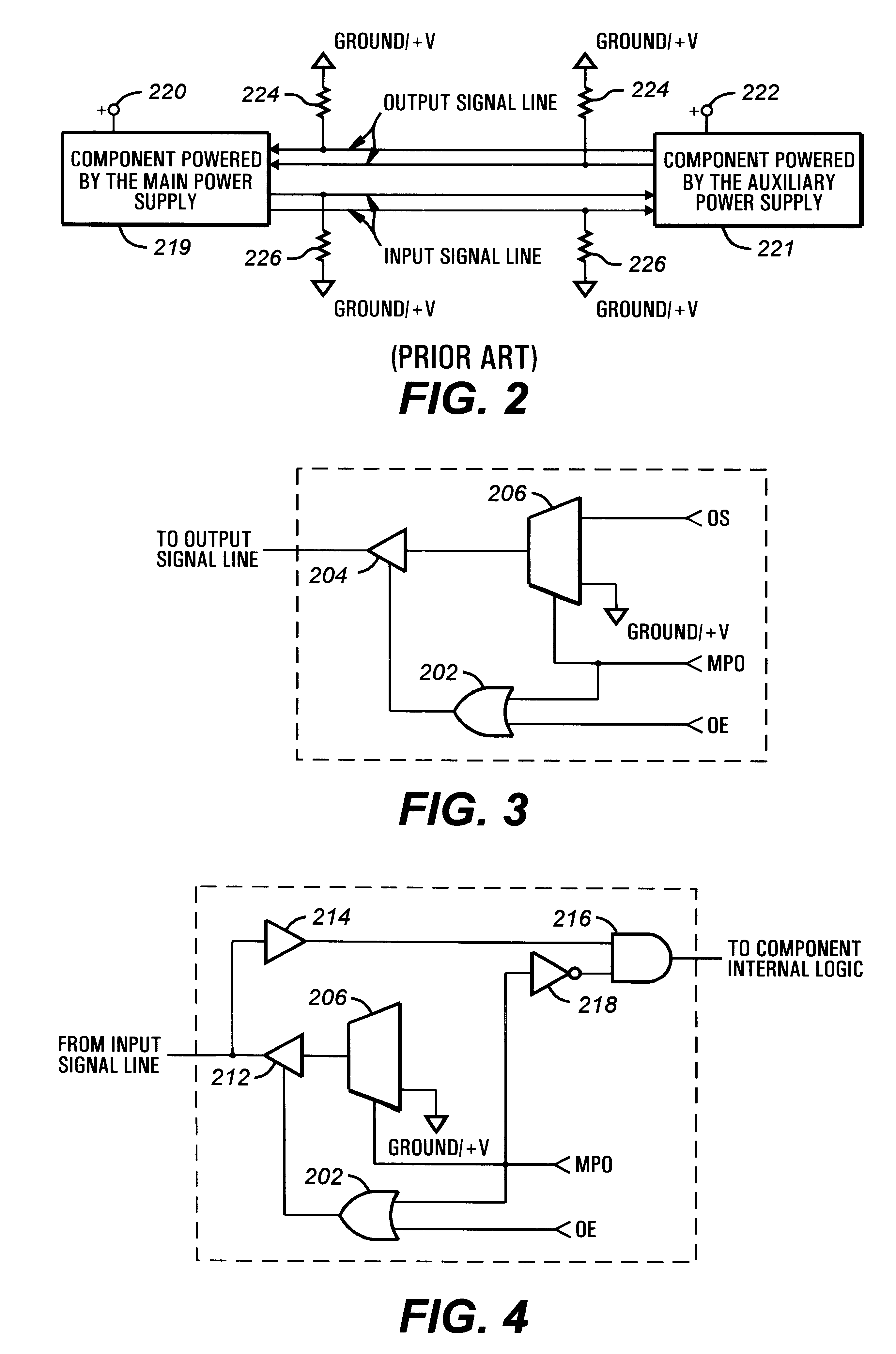 Patent Us6256744 Personal Computer Component Signal Line Isolation 1070 Case Wiring Diagram Drawing