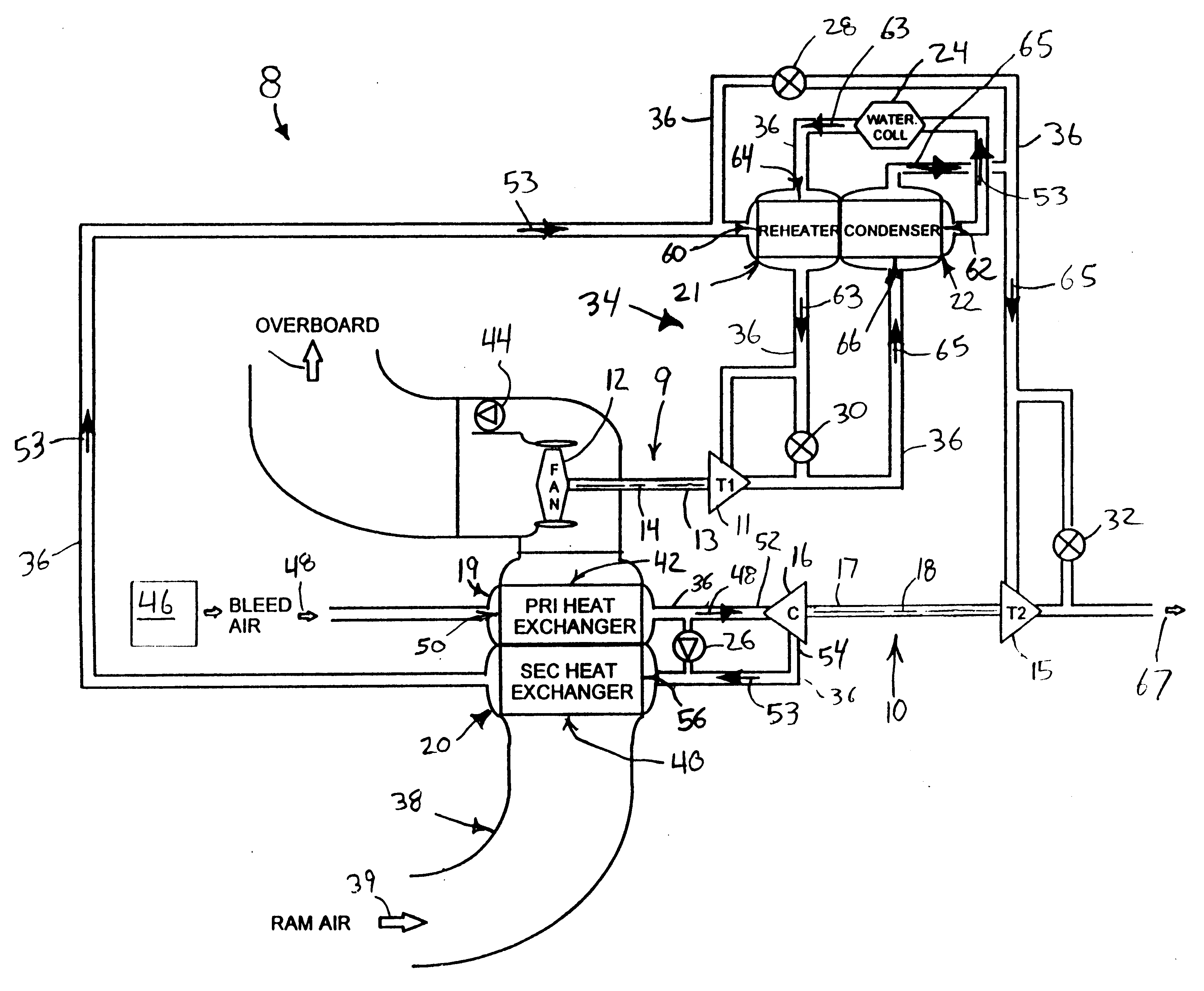 Air Cooling Bootstrap Air Cooling System