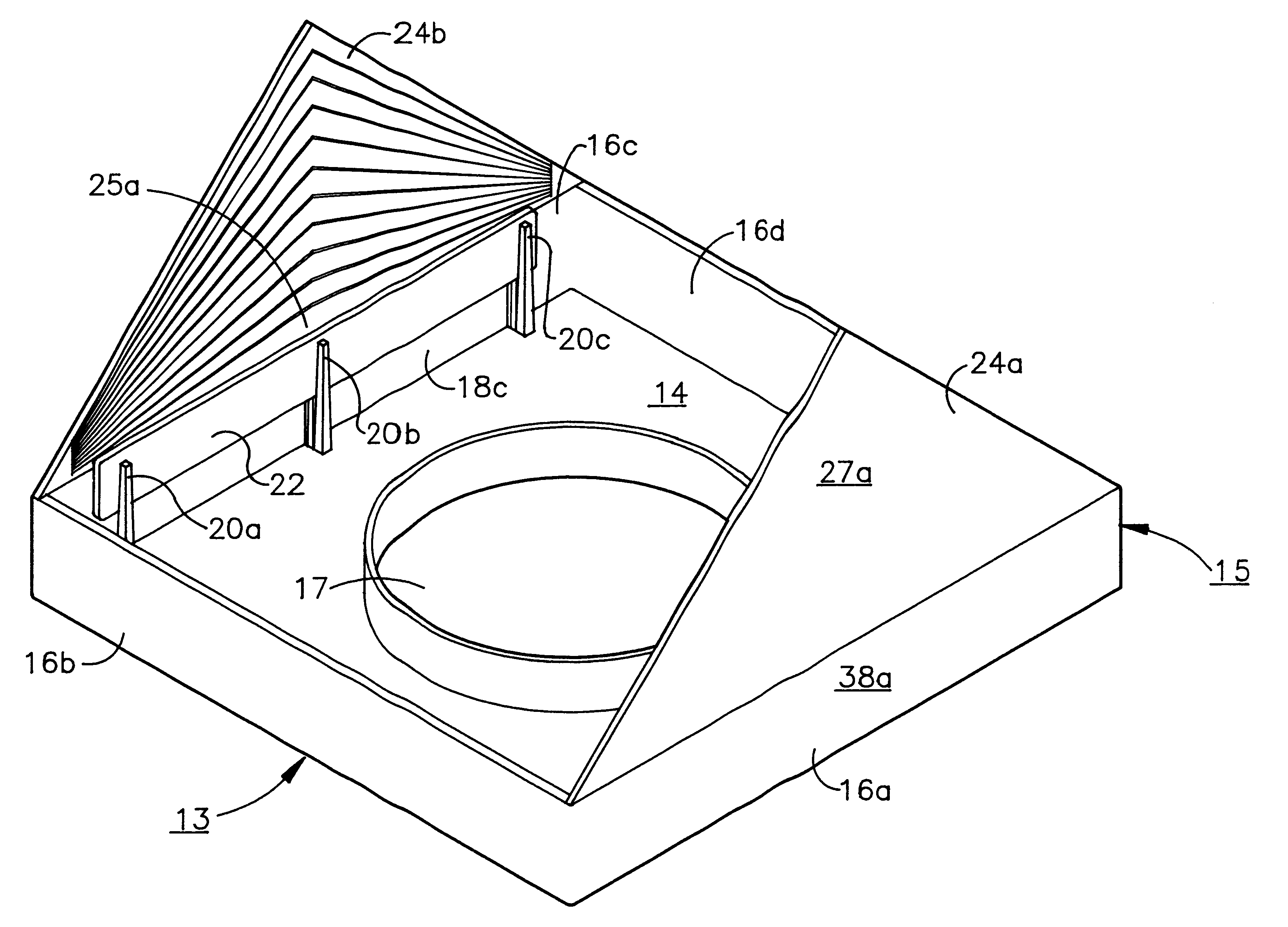 Patent US6263619 - Cathedral ceiling fixture mounting - Google Patents