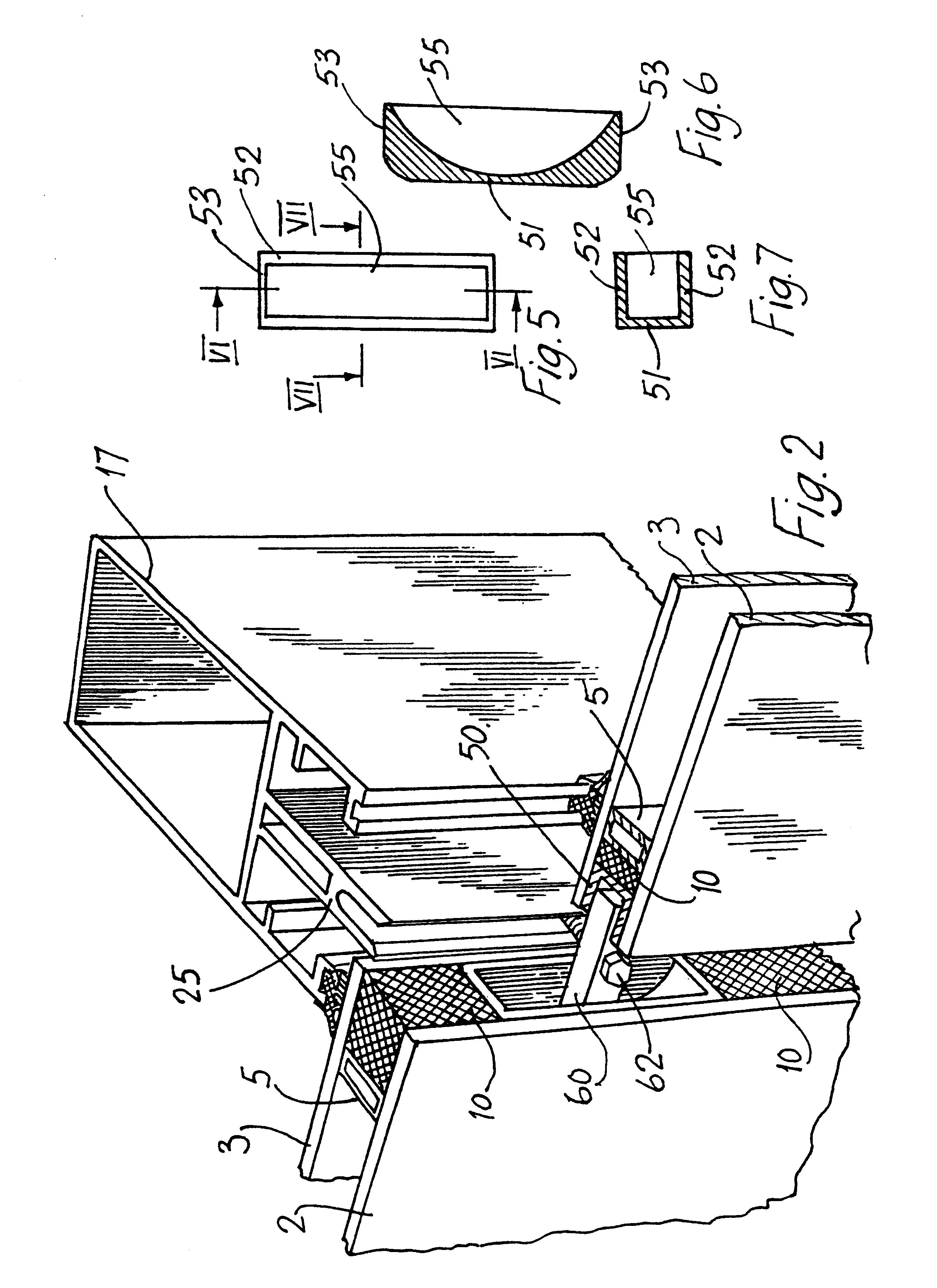 Insulated Glass Assembly : Patent us glazing assembly google patents