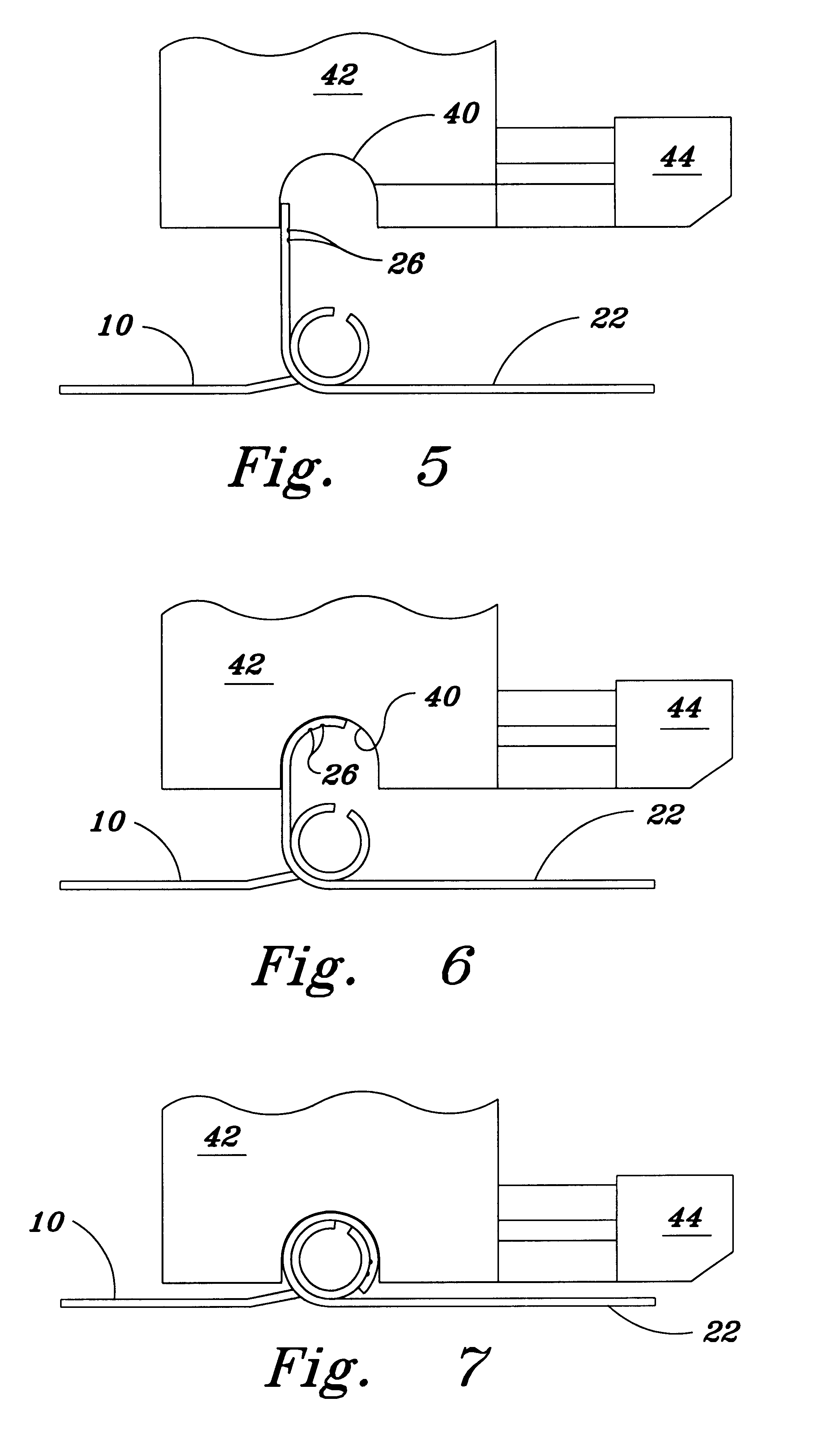 Patent Us6269672 Indentations To Control Metal Curling