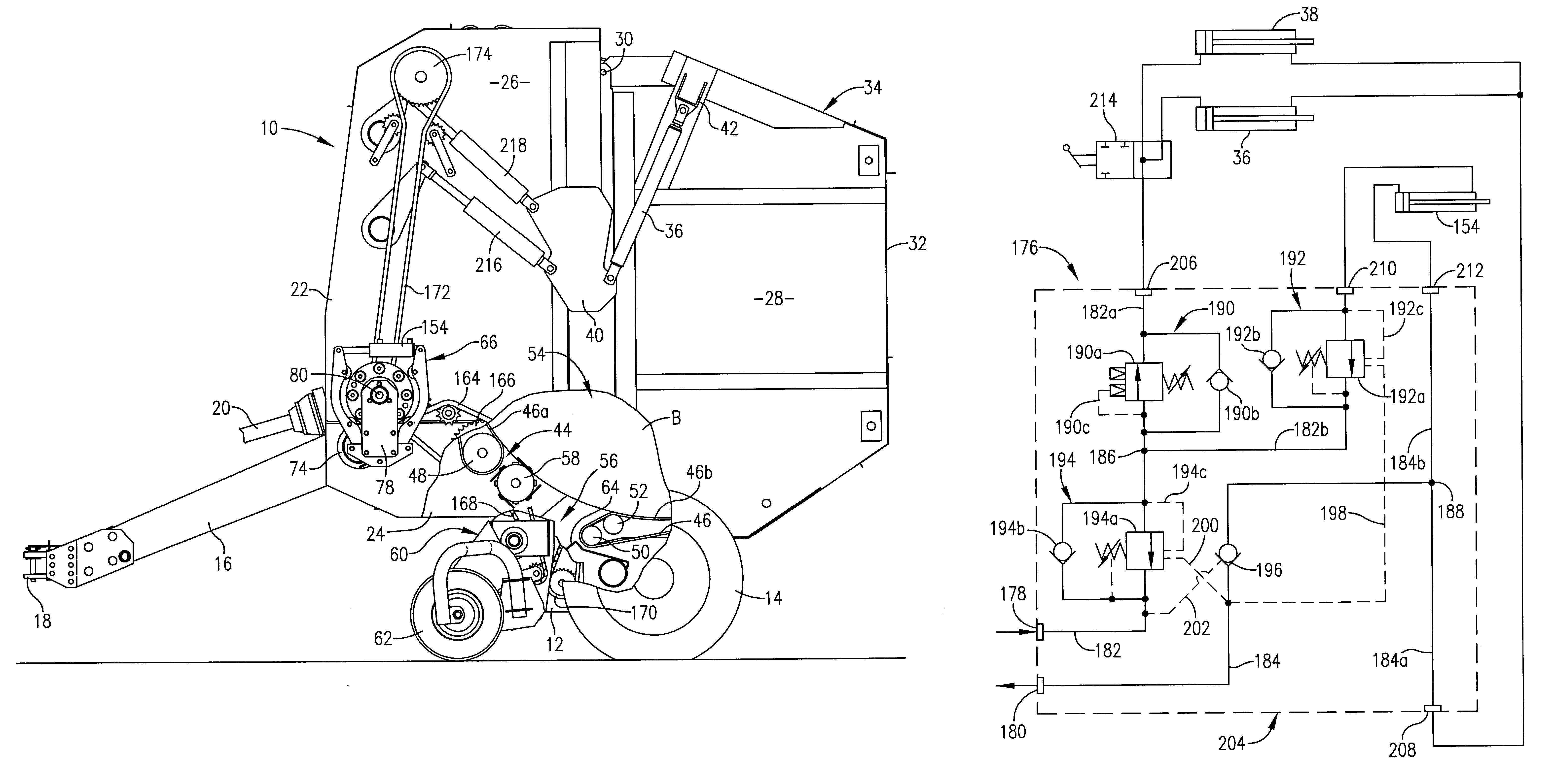 US06272825 20010814 D00000 145 ford tractor wiring diagram ford tractor carburetor diagram John Deere 535 Hay Baler at fashall.co