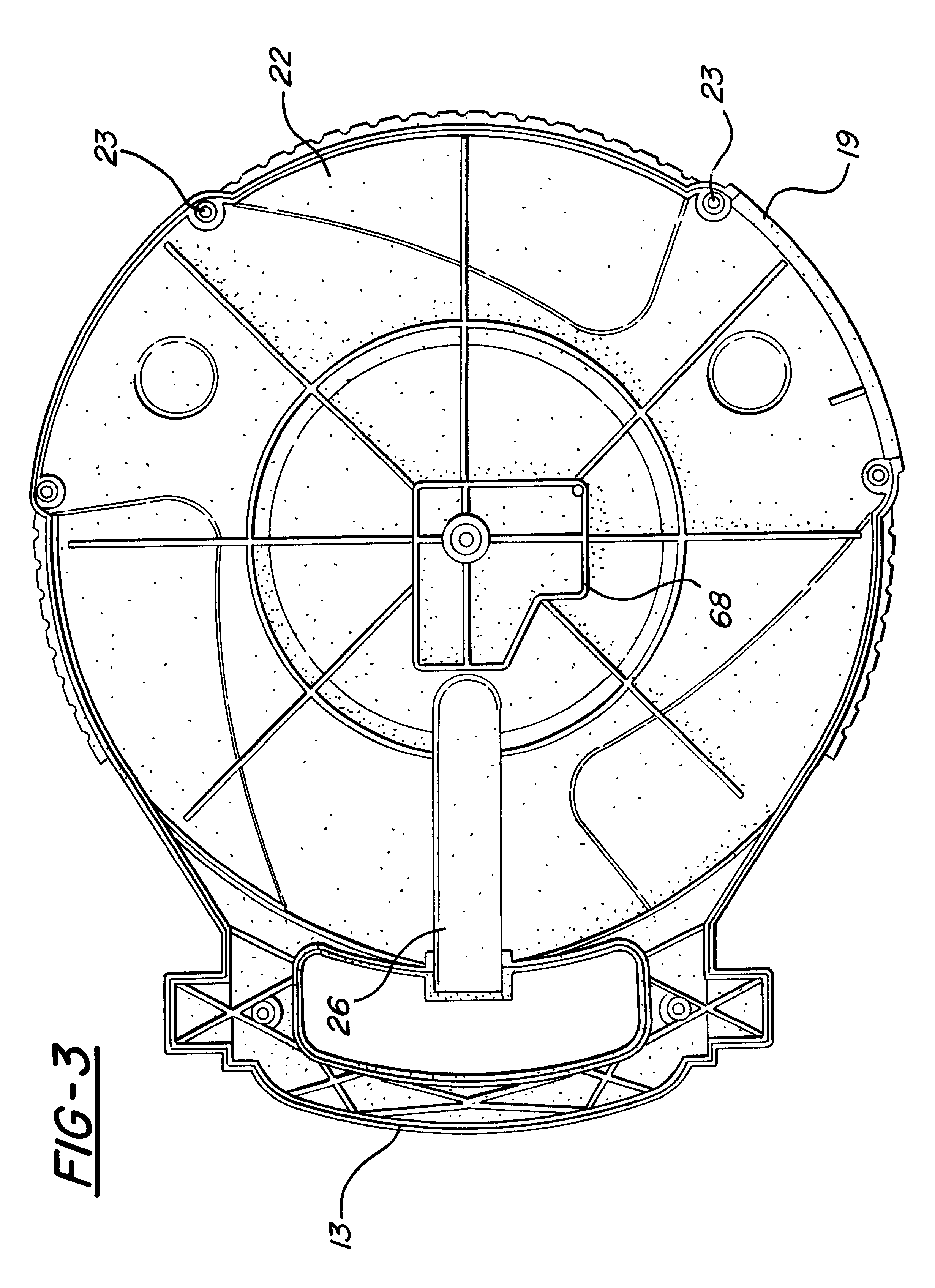 Patent US6273354 Retracting extension cord reel Google Patents – Extension Cord Outlet Wiring Diagram