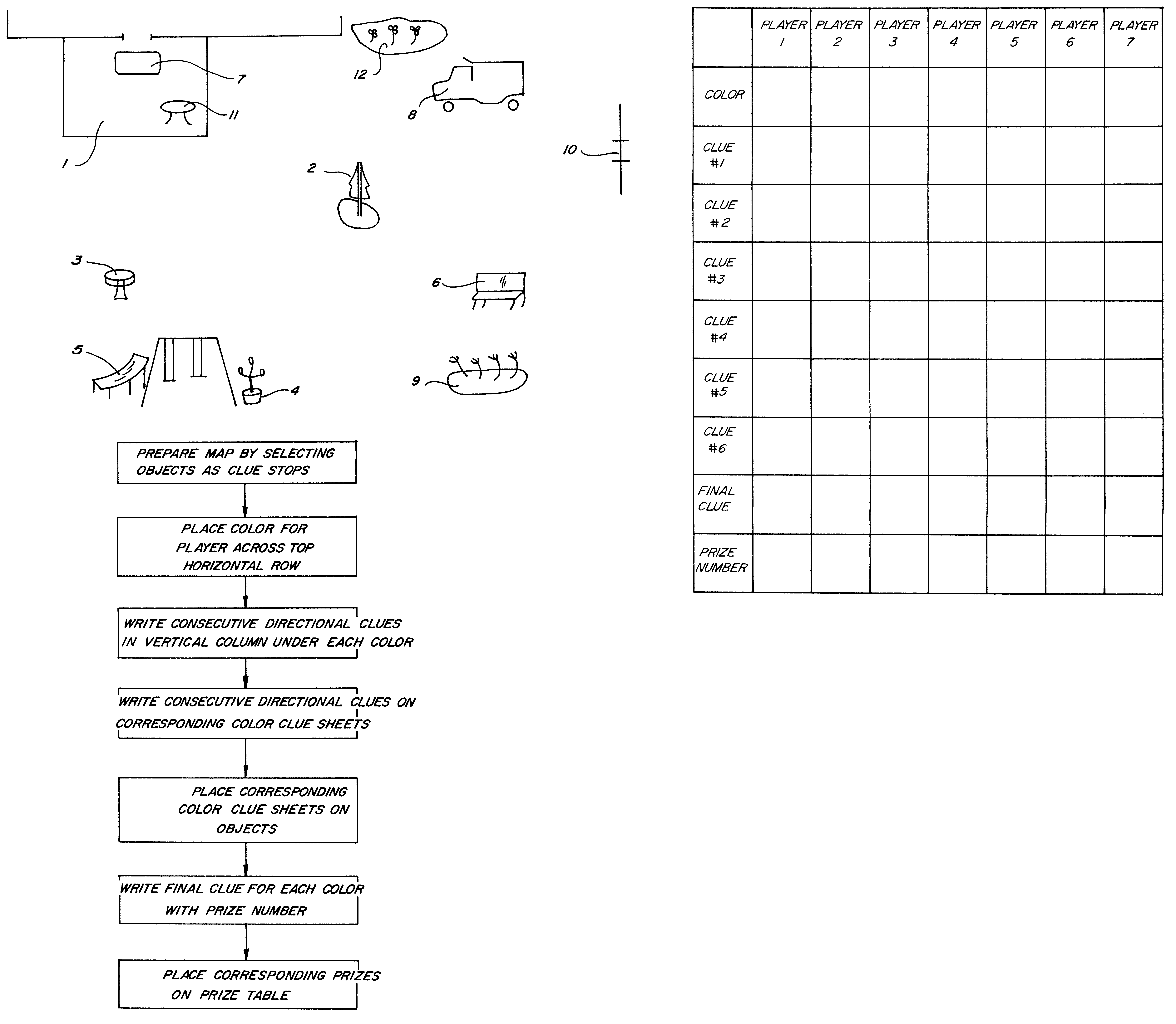 patente us6273425 fun hunt yard game google patentes