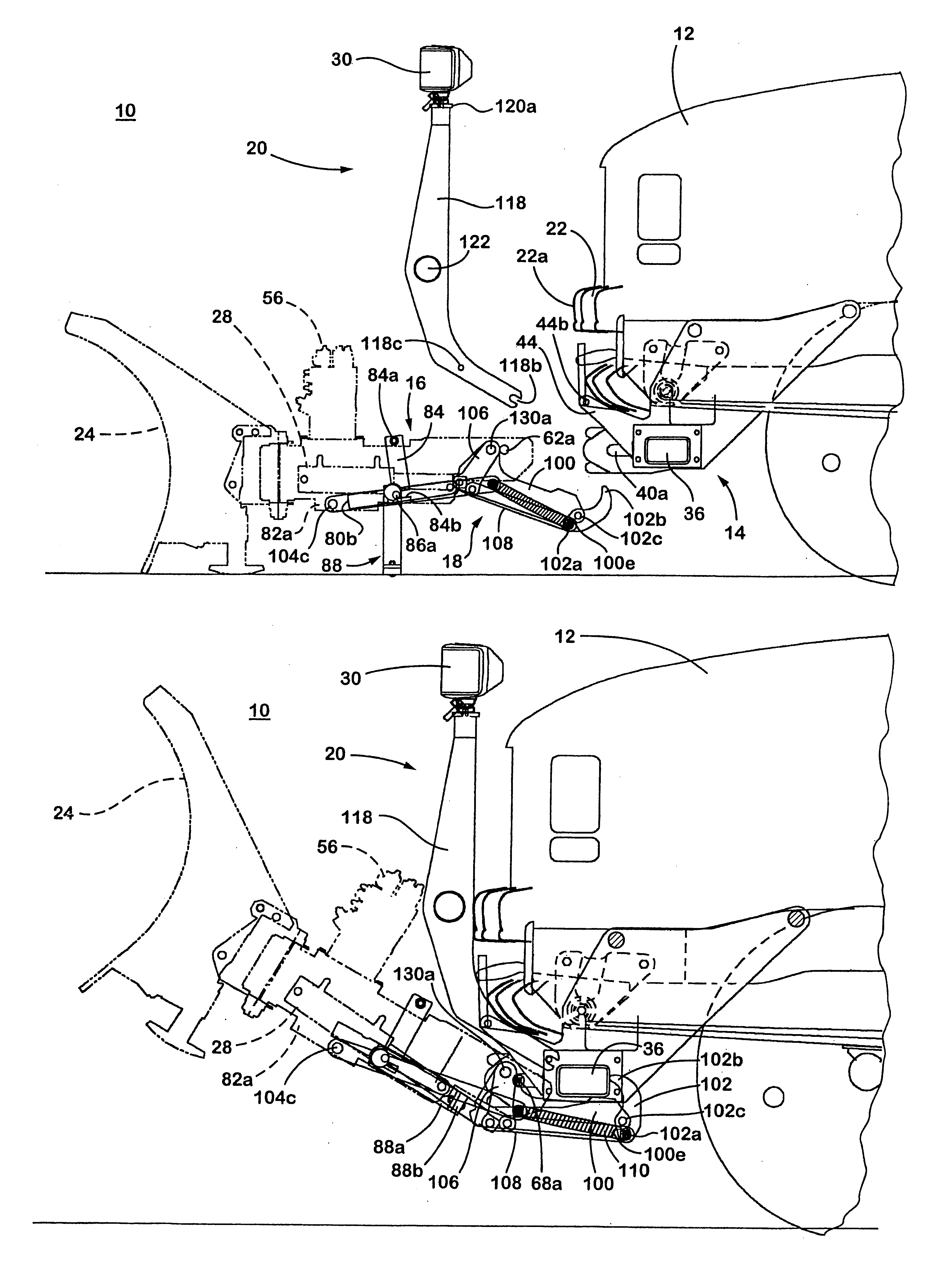 patent us6276076 plow hitch assembly for vehicles patents Blizzard 8100Pp Plow Wiring Diagram patent drawing