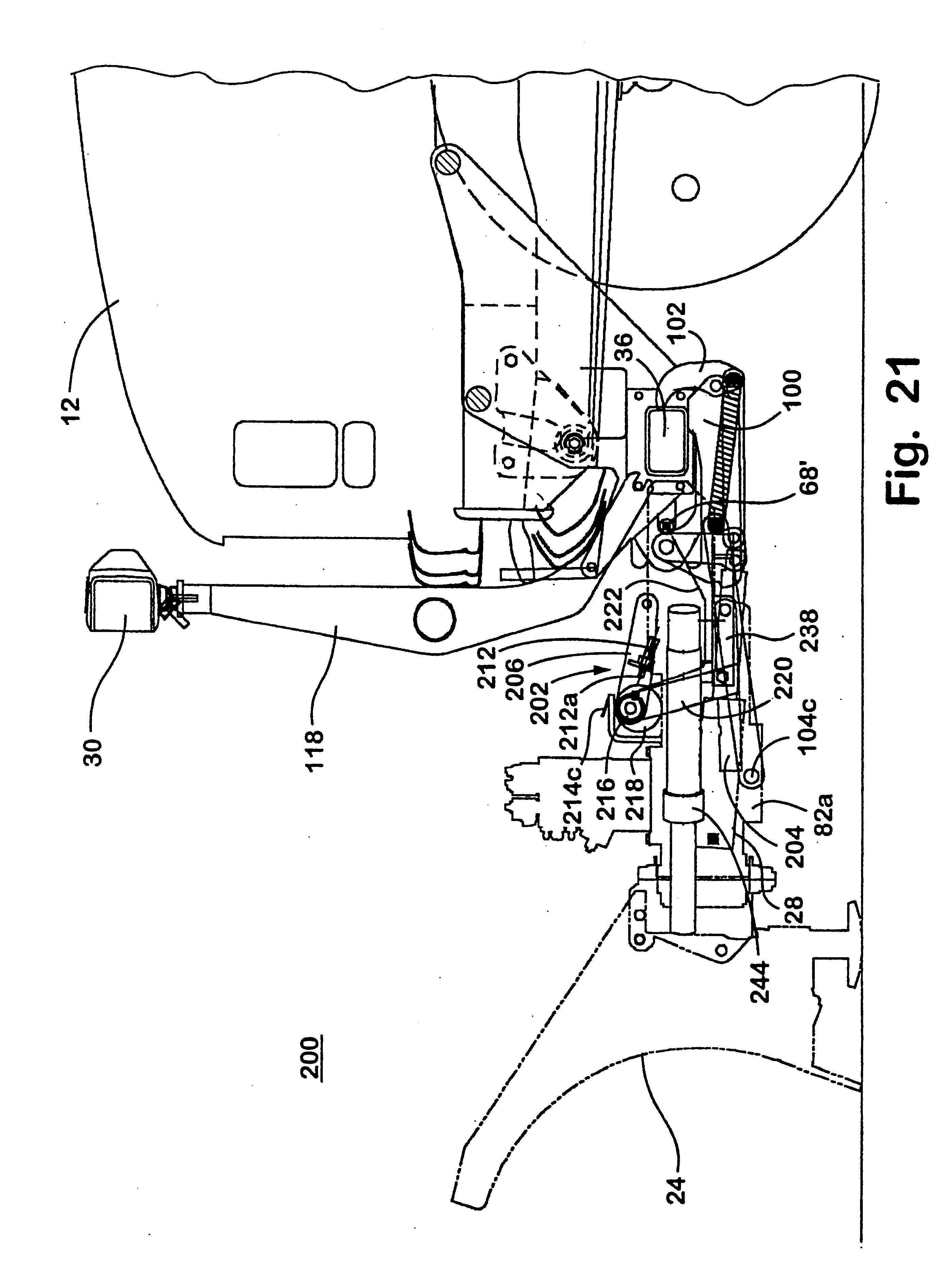patent us6276076 plow hitch assembly for vehicles patents Boss Snow Plow Light Wiring Diagram patent drawing
