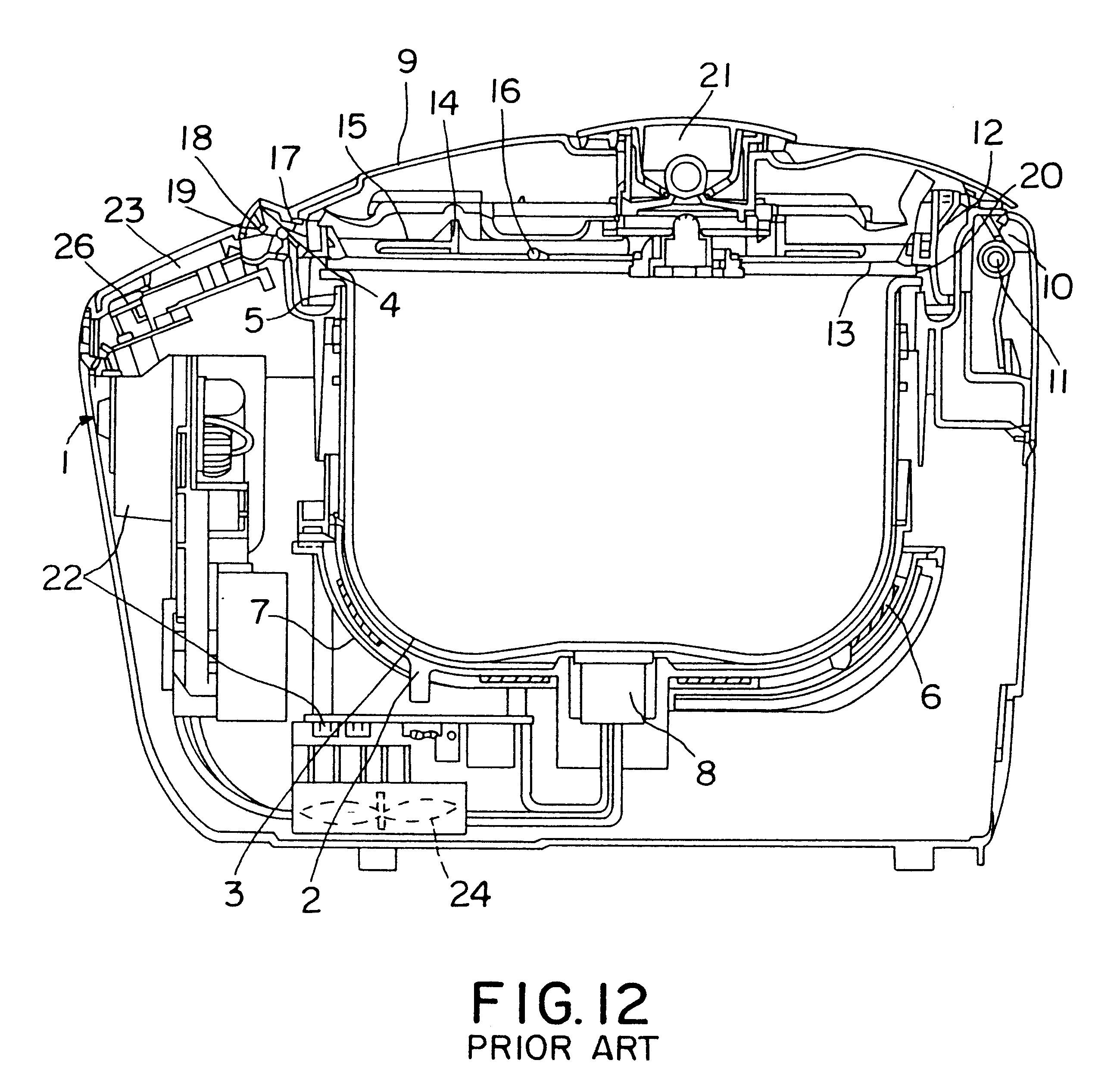 patent us6281483 - rice cooker