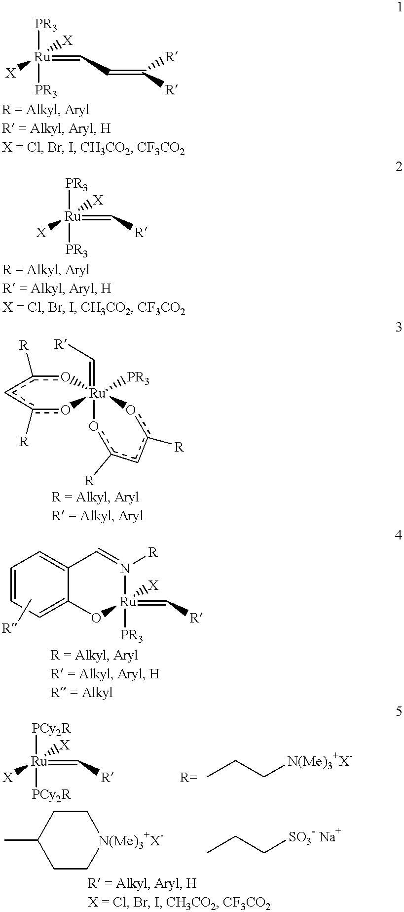 ruthenium metathesis catalysts In order to design improved ruthenium catalysts for z-selective olefin metathesis reactions, four cyclometalated catalysts with new chelated architectures were.