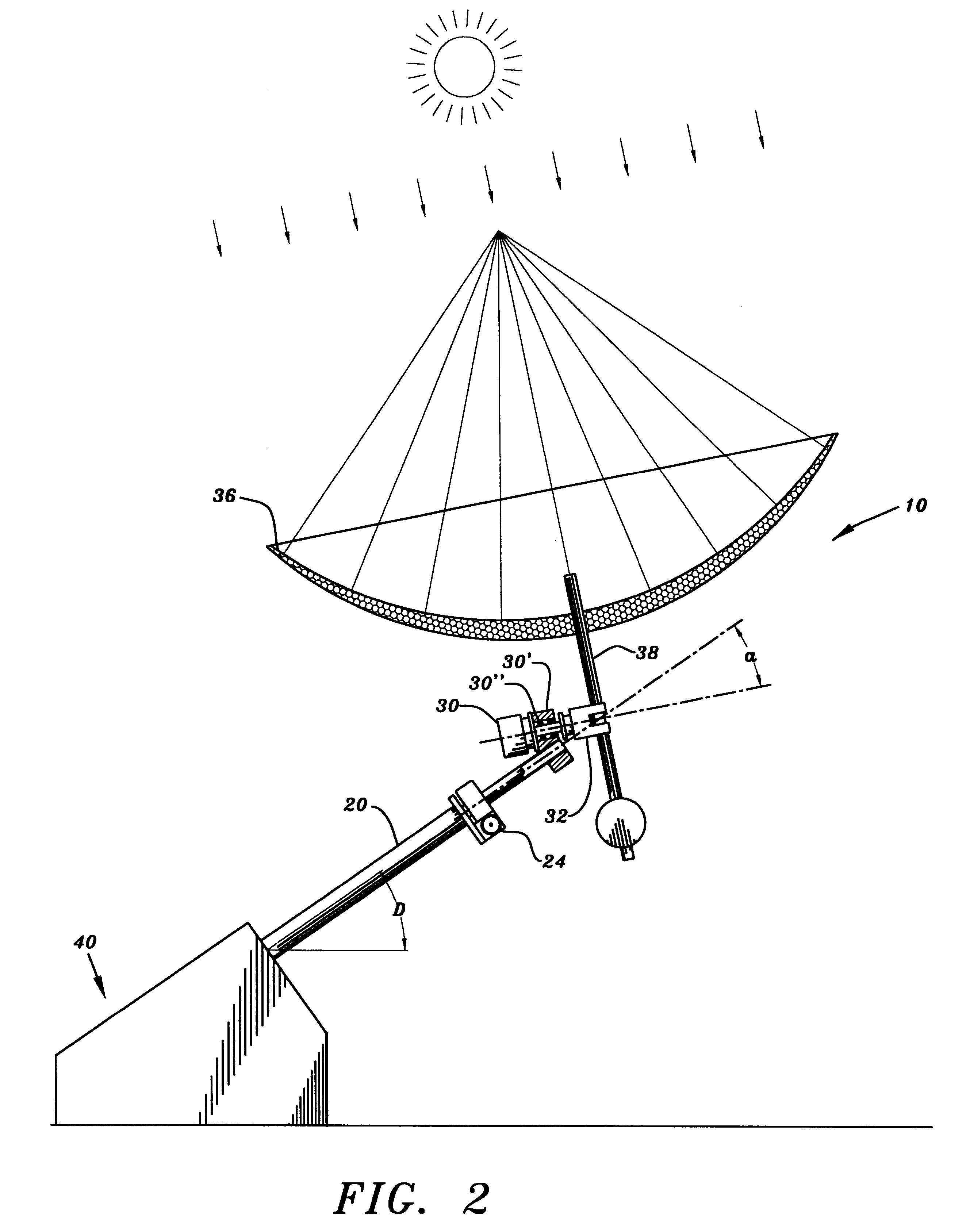 patent us6284968 - solar-tracking system