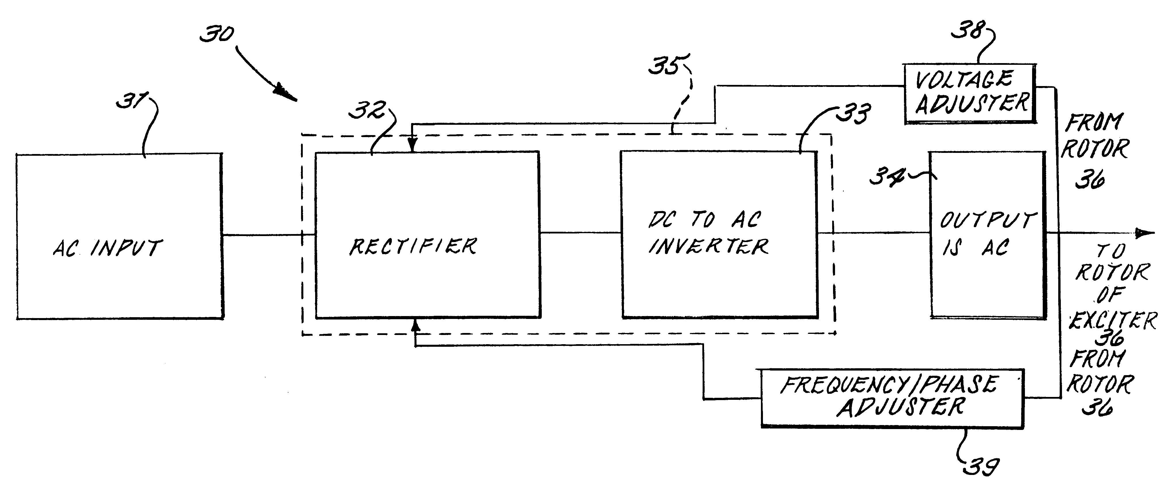 US06285089 20010904 D00000 patent us6285089 induction static start for a turbine generator generator exciter diagram at n-0.co
