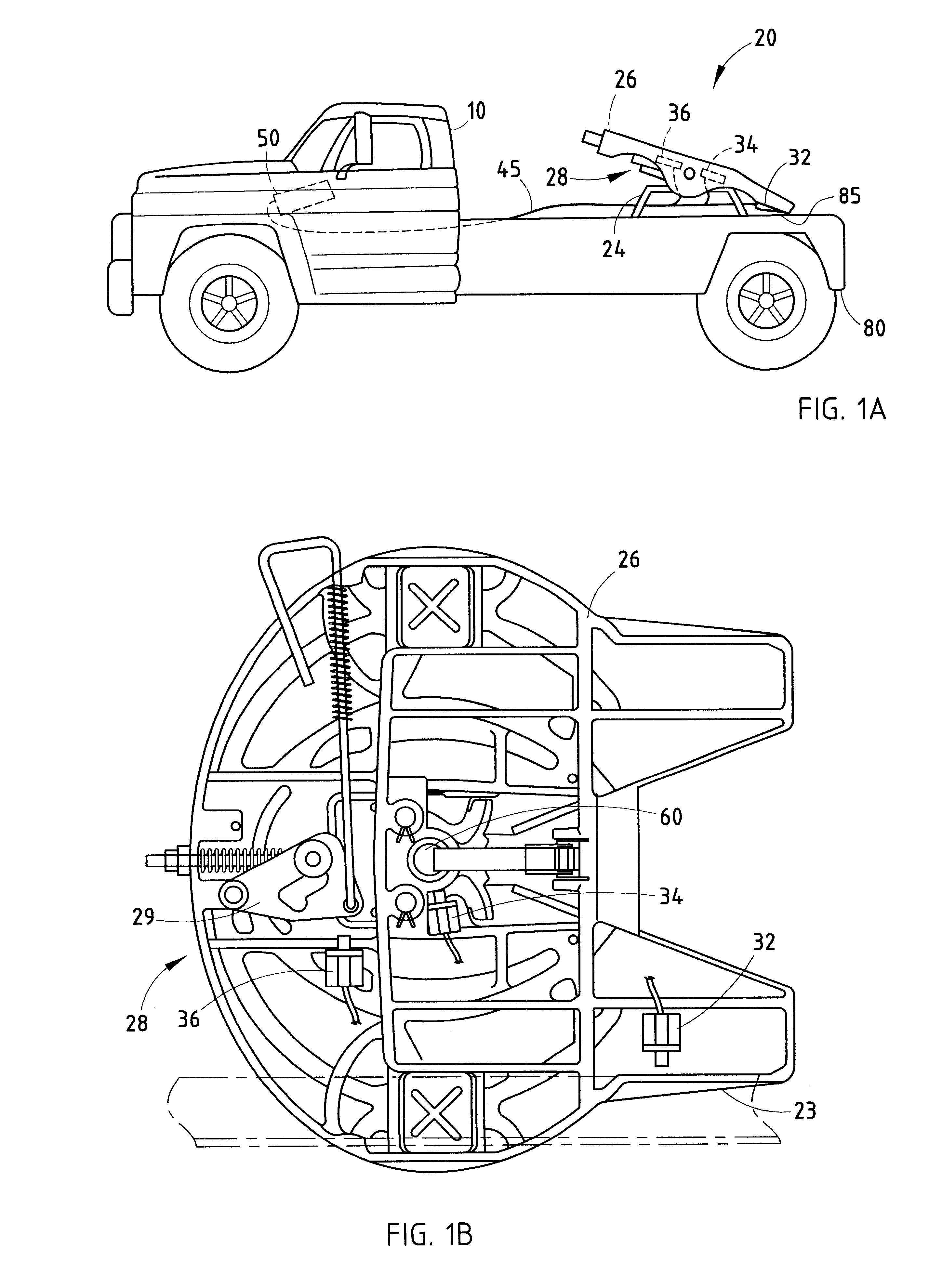 Tractor Trailer Fifth Wheel Diagrams : Patent us electronic system for monitoring a
