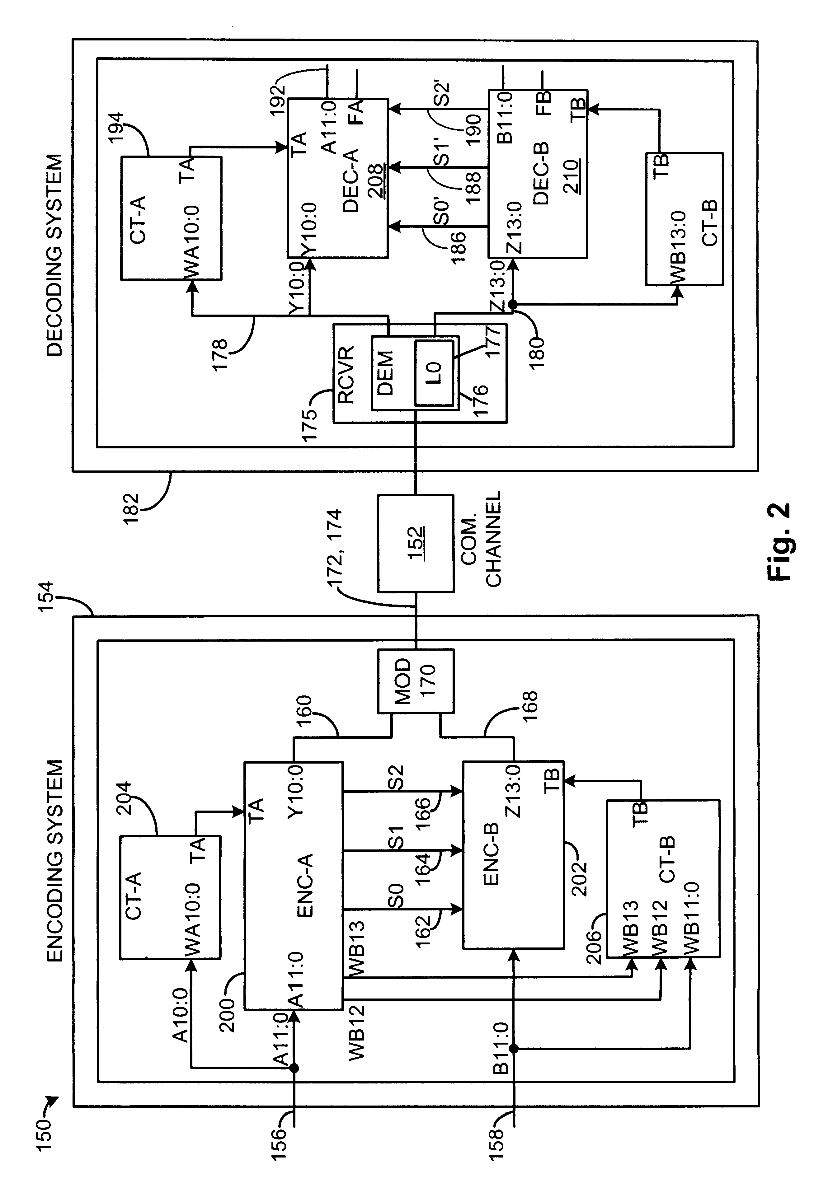 patent us encoding and decoding techniques for data in  patent drawing