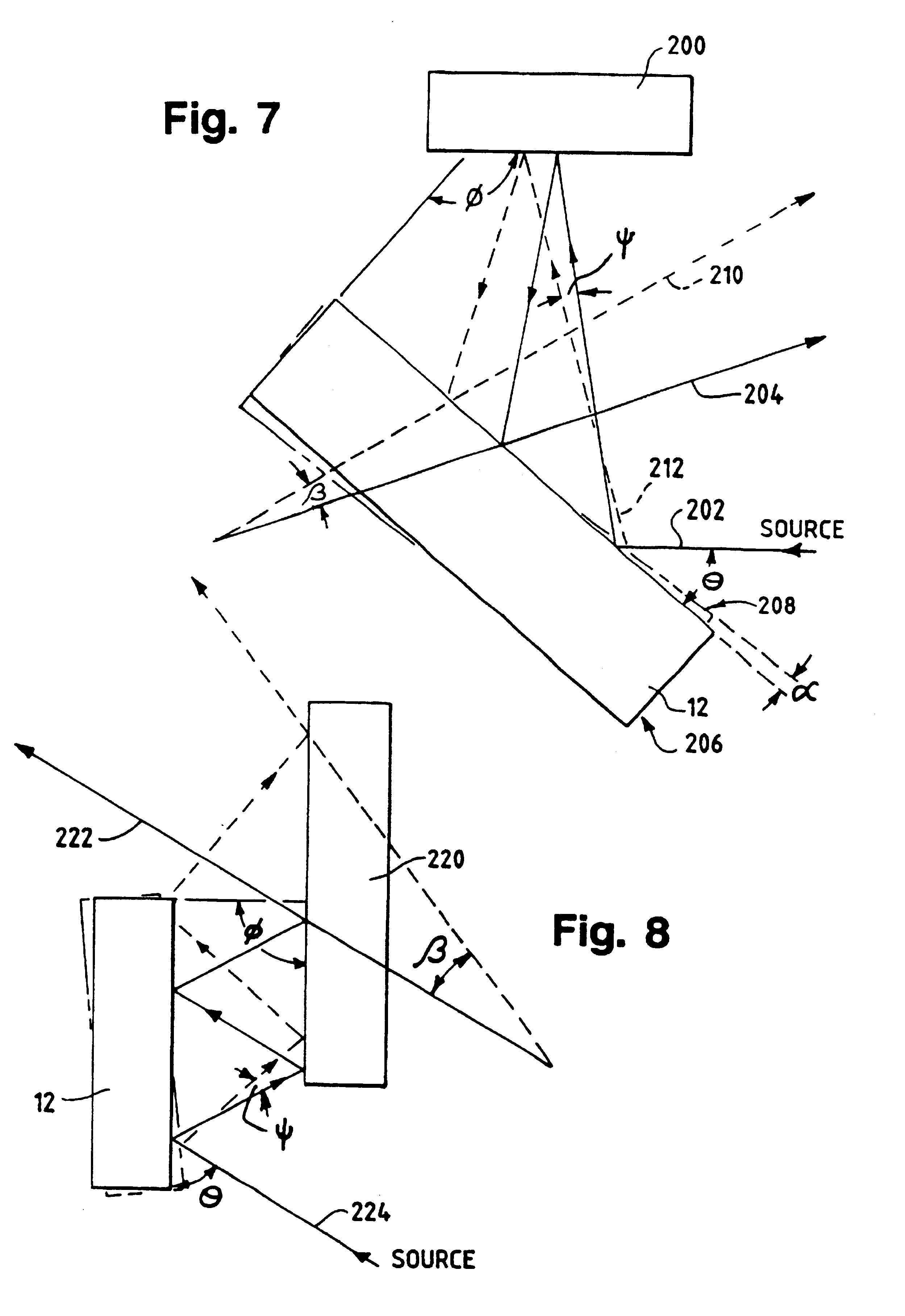 patent us6288816 - miniature optical scanner for a two axis scanning system
