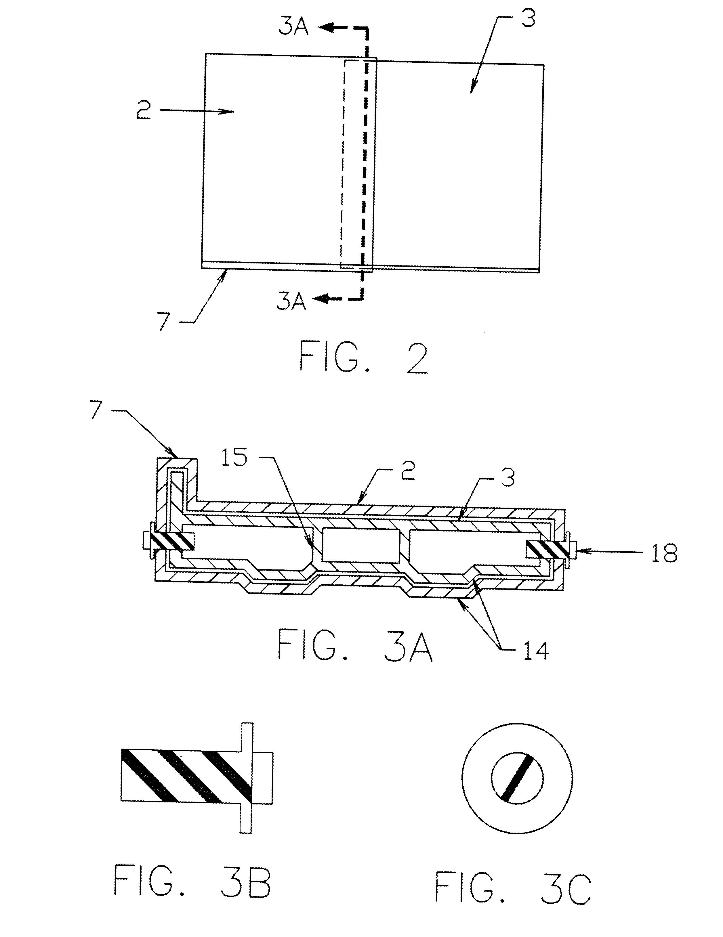 Jobsite Blueprint Table Patent US6289824 - Collapsible jobsite plan table - Google Patents