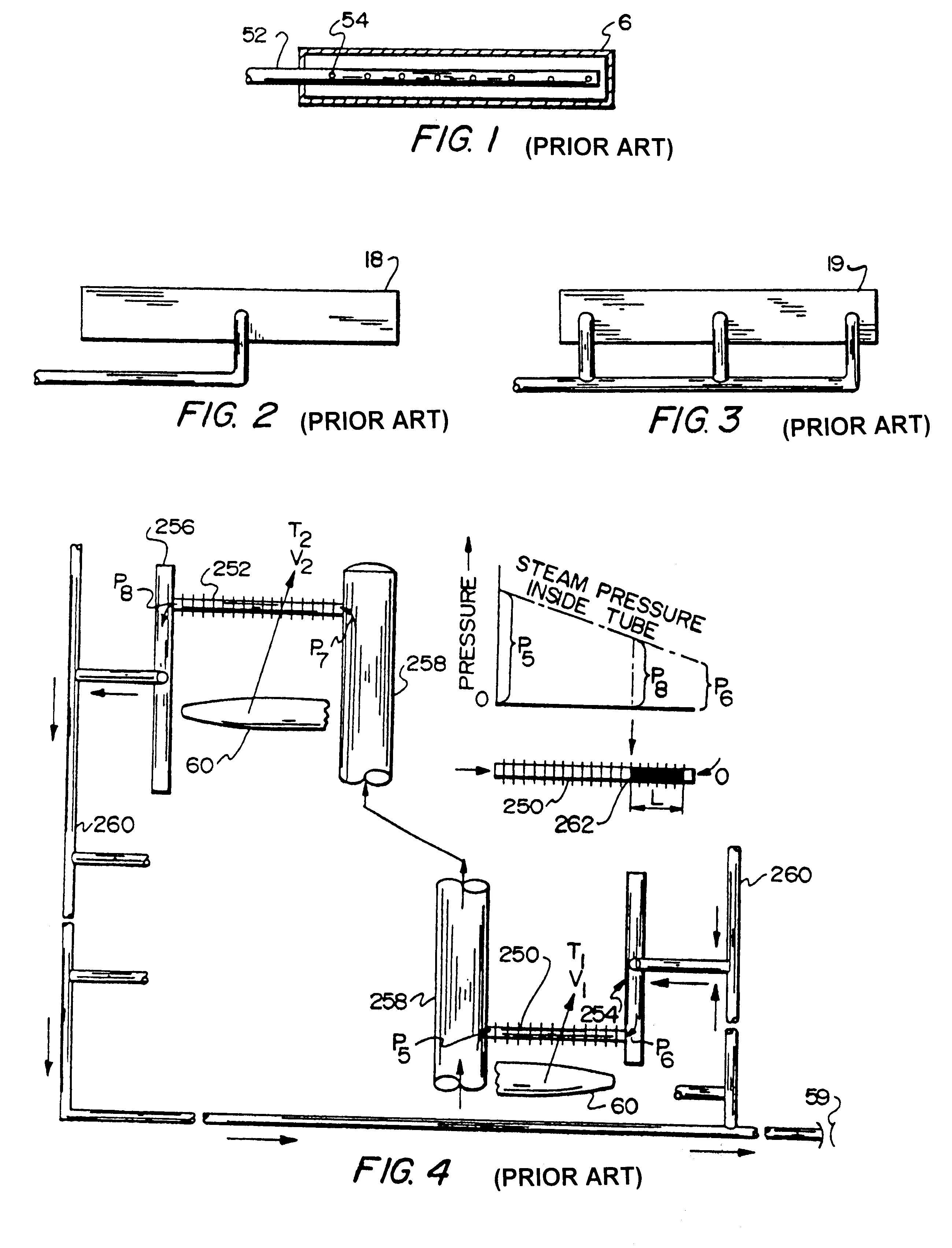 Patent US Air cooled vacuum steam condenser bundle