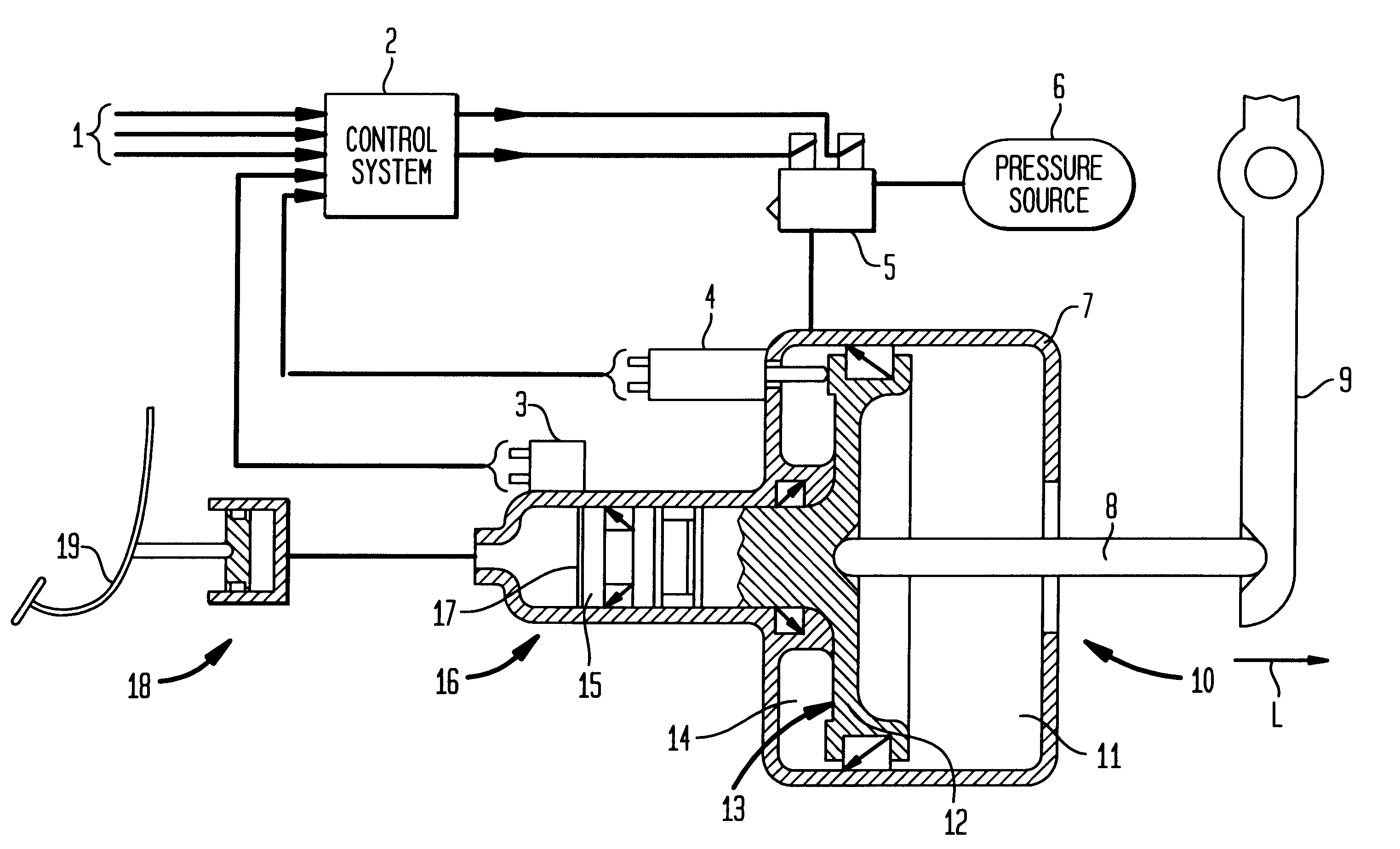 Hydraulic Clutch System Diagram : Patent us actuating mechanism for a clutch