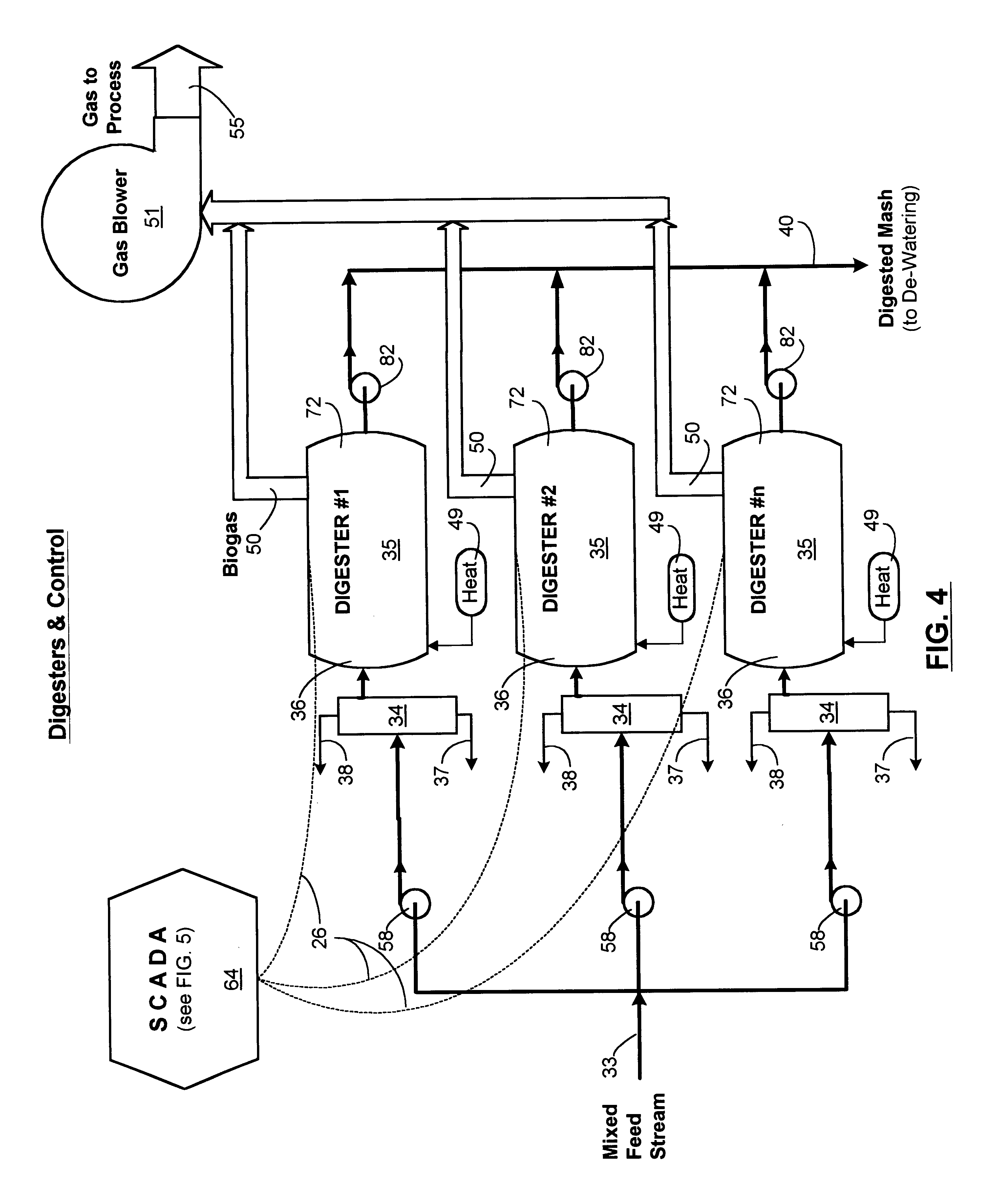 patent us6296766 - anaerobic digester system